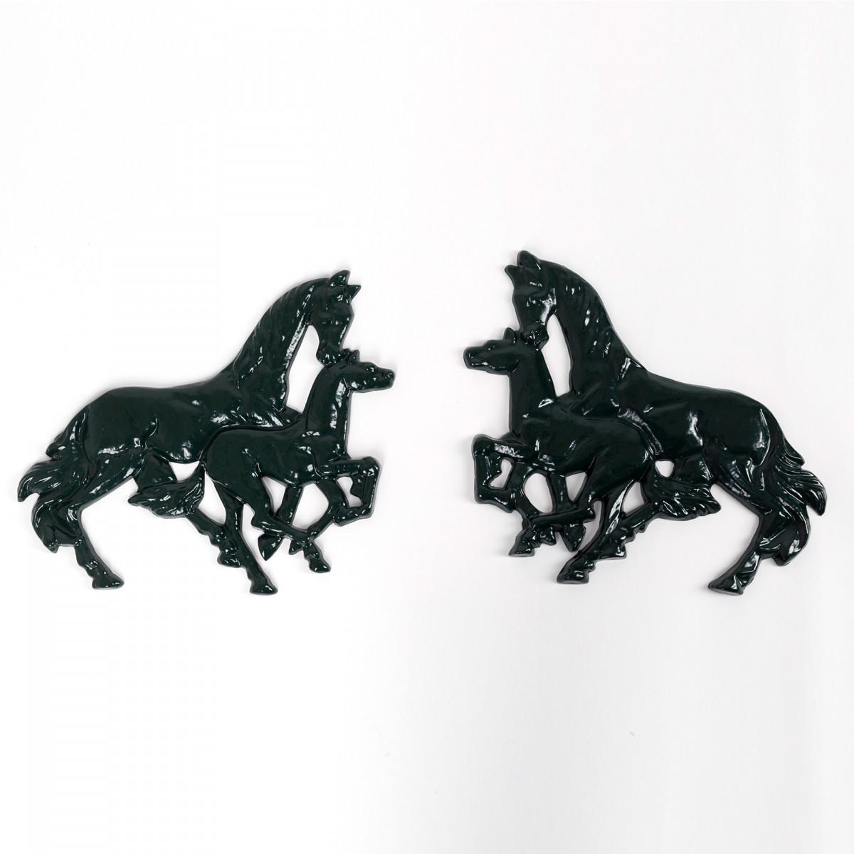 Paarden ornamenten set