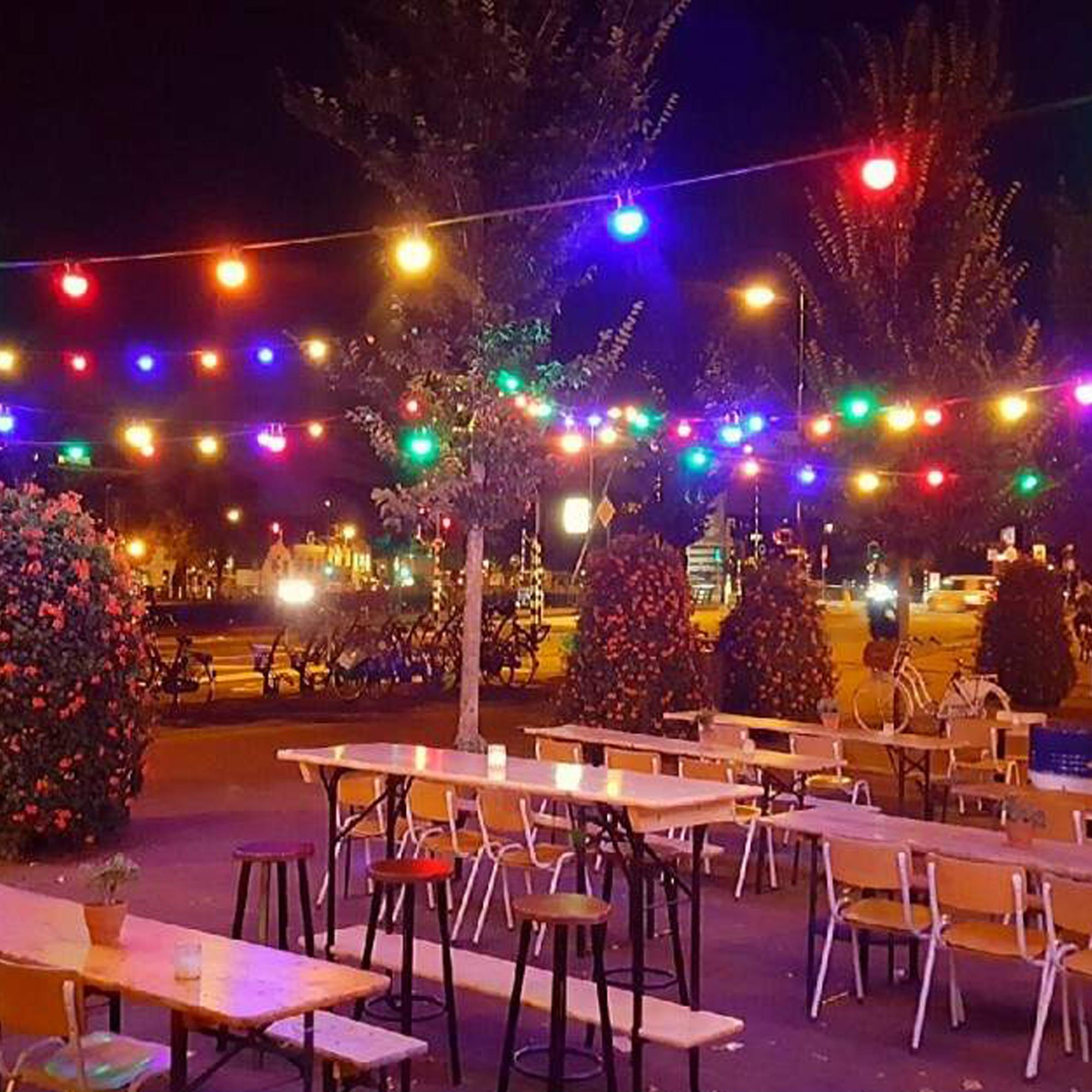 Patio 30m Lichtsnoer kleur Incl. LED