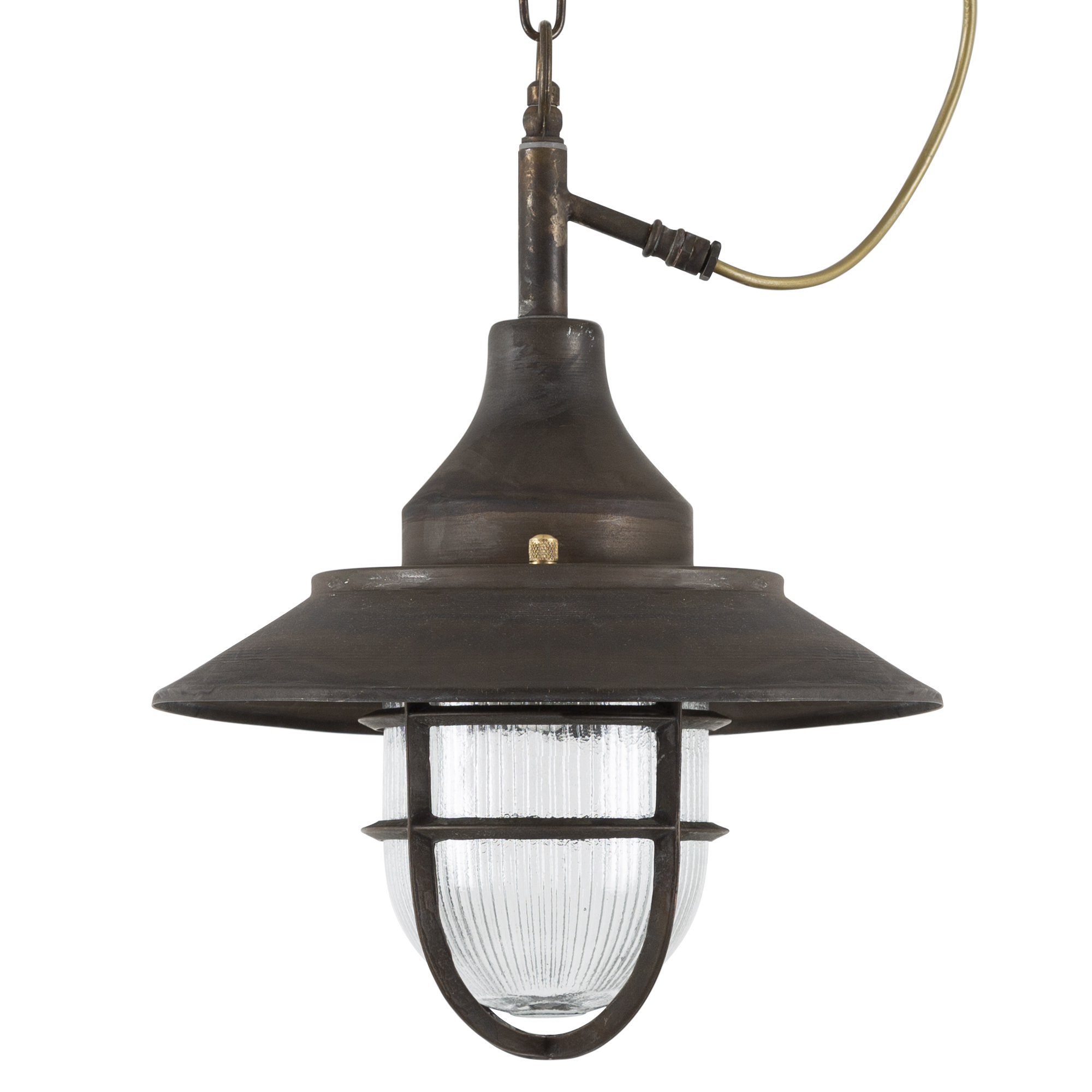 Hanglamp Navy Dark Brass
