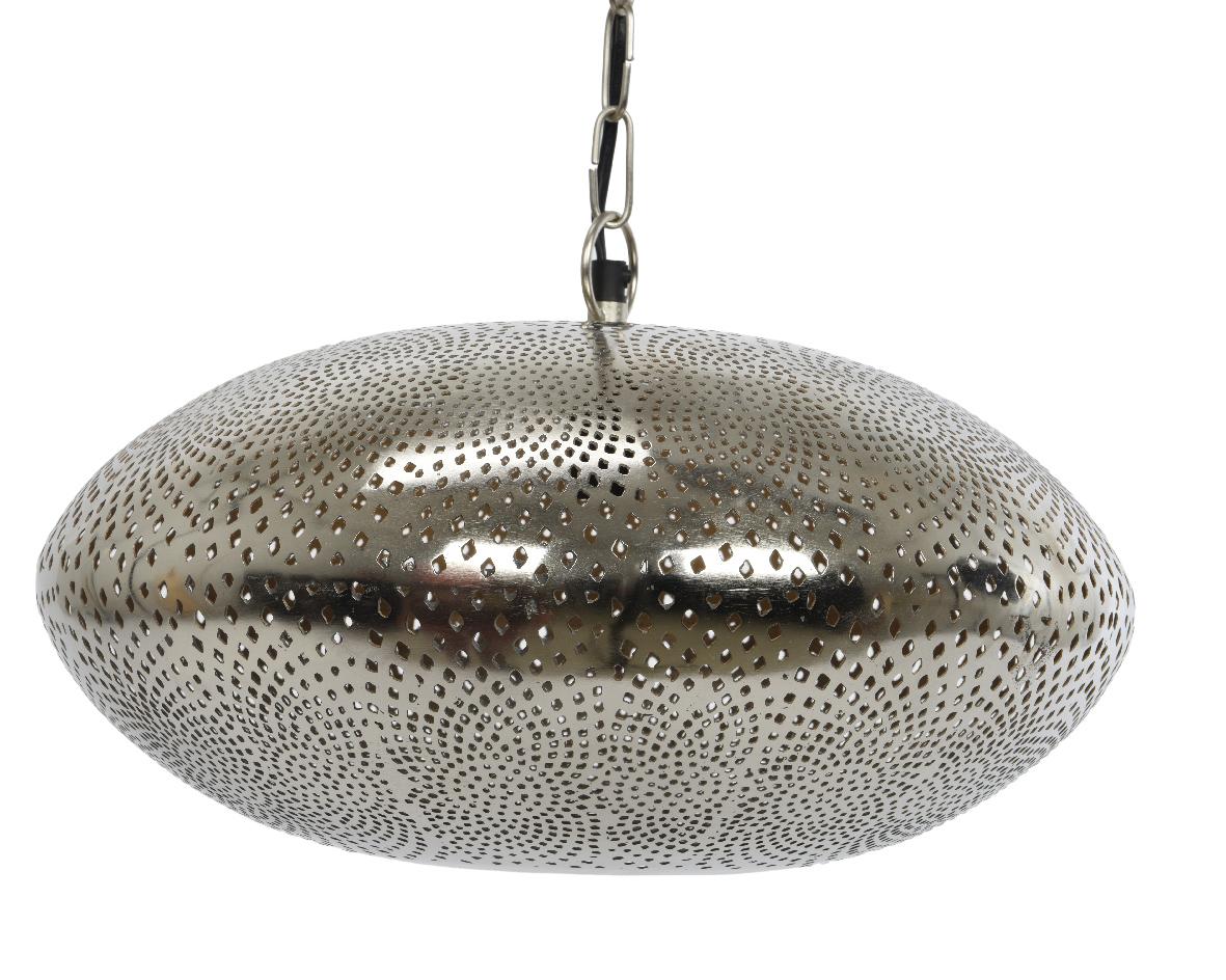 Marokkaanse hanglamp nikkel