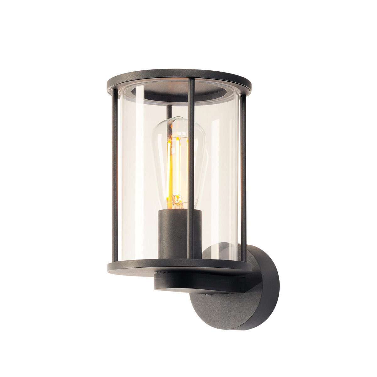 Moderne strakke wandlamp