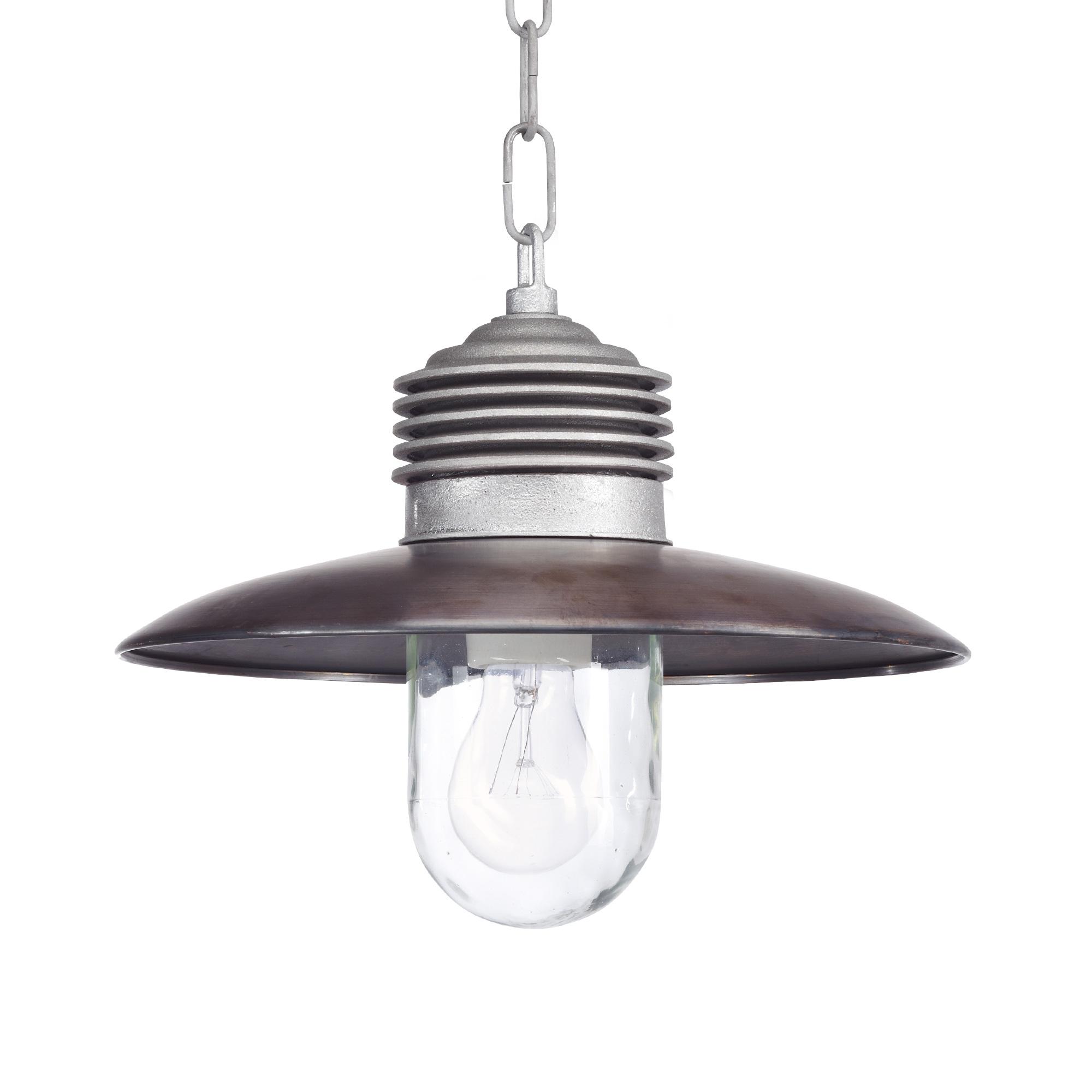 Hanglamp Ampere ketting Alu./Koper