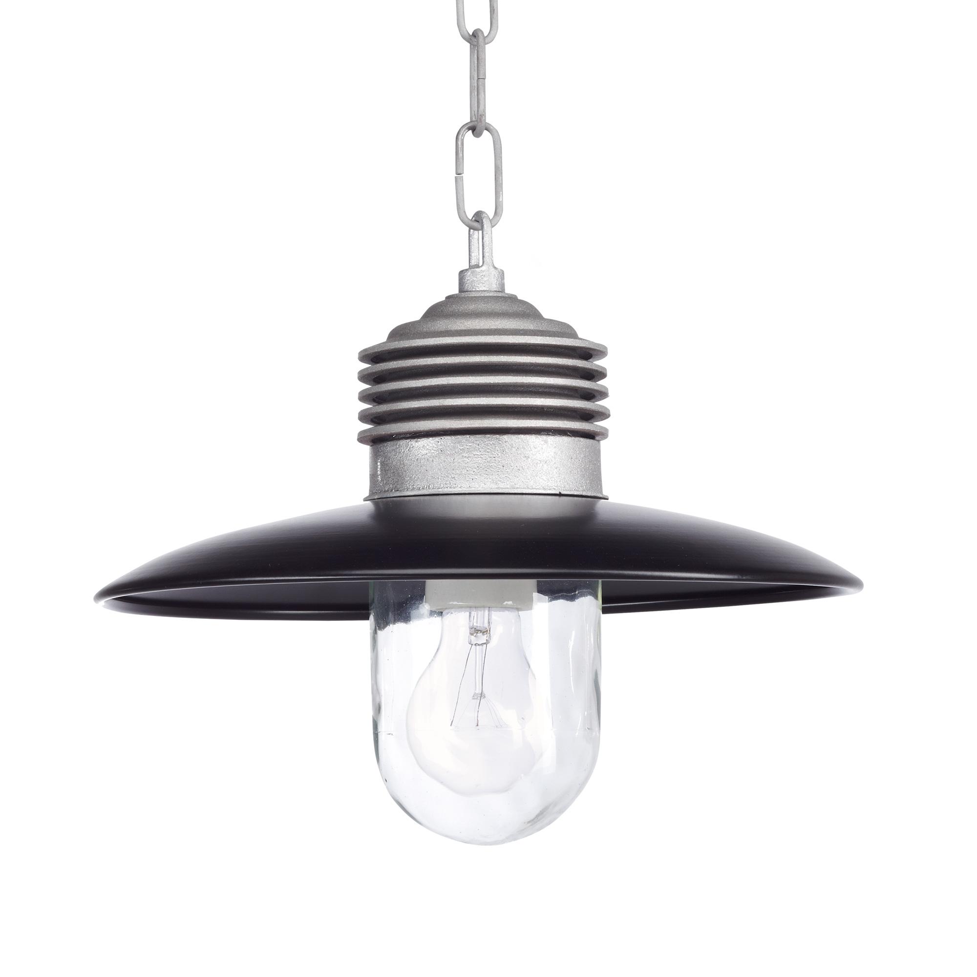 Hanglamp Ampere ketting Alu. Zwart