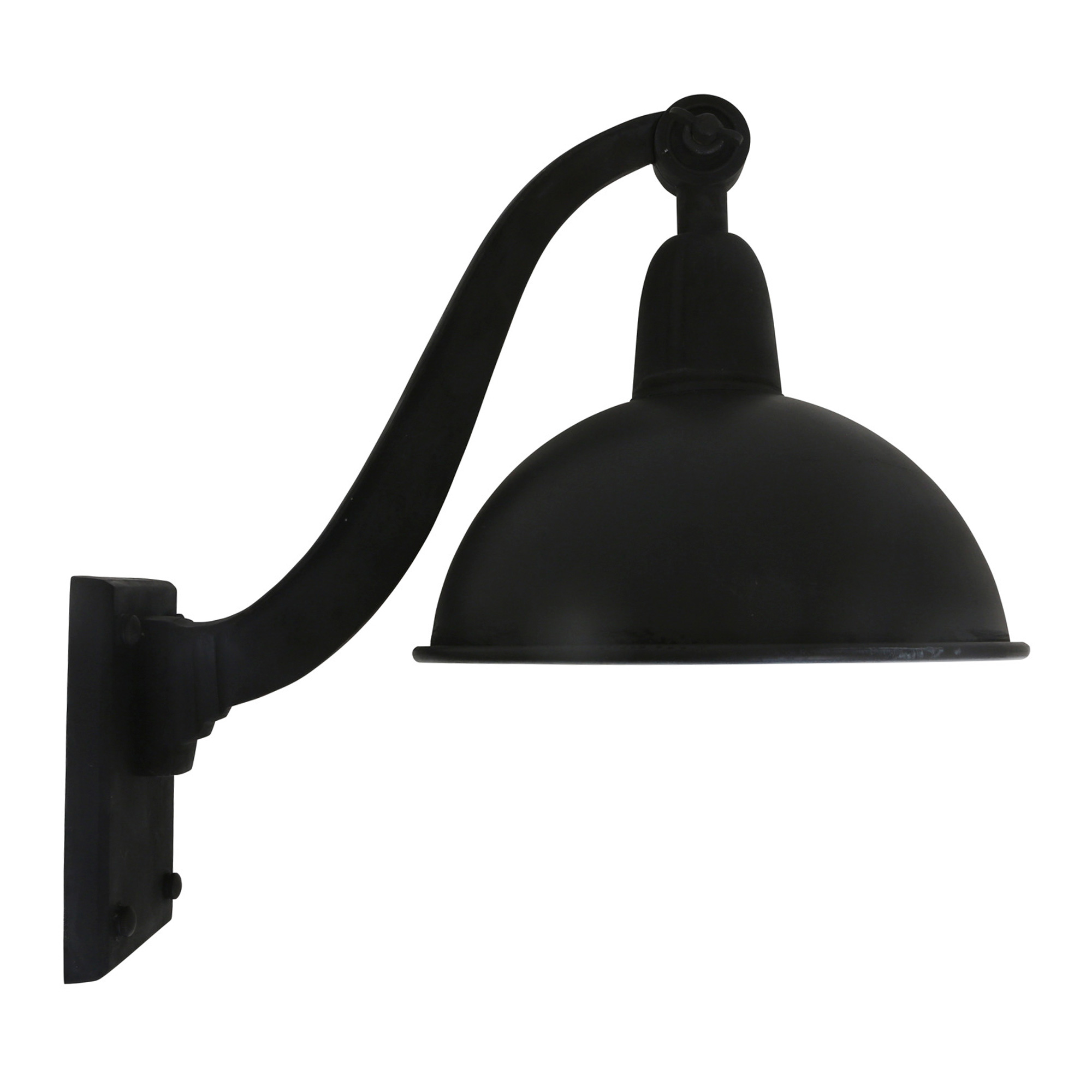 Wandlamp Halifax antique black