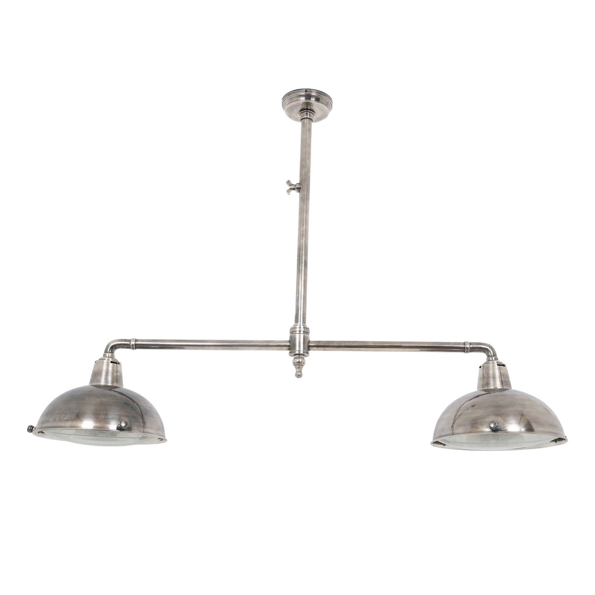 Hanglamp Billiards 2 silver