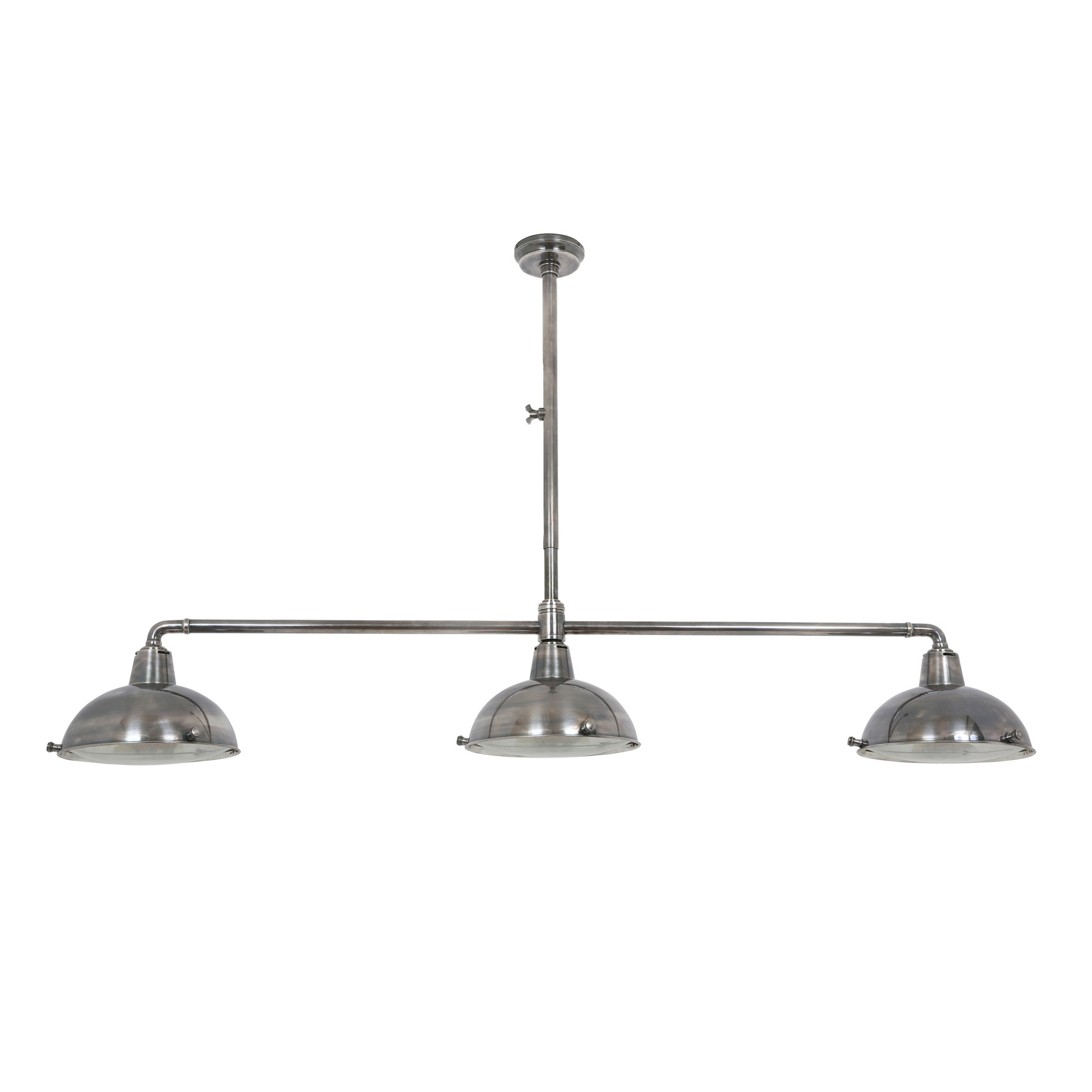 Hanglamp Billiards 3 silver