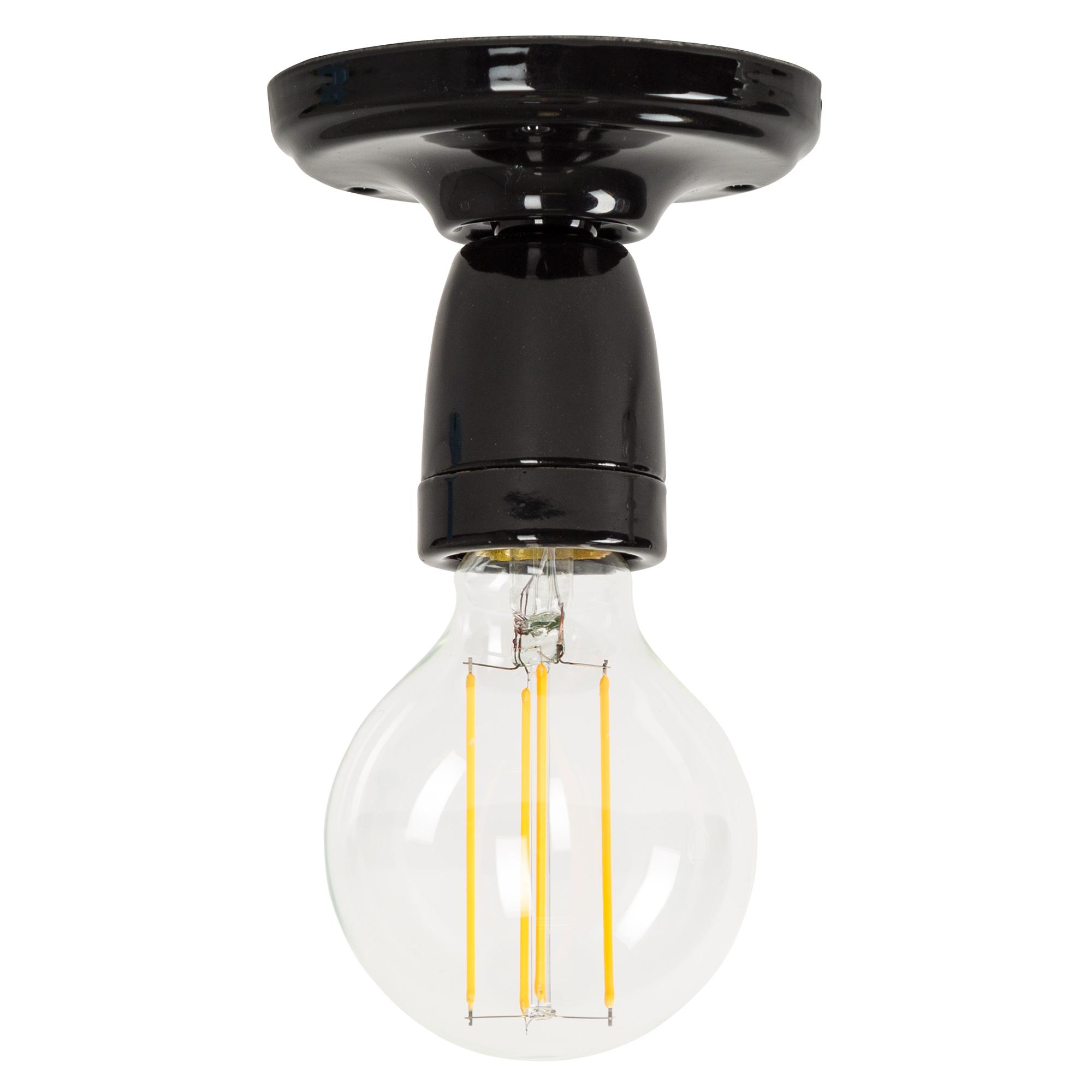 Plafondlamp Mir zwart