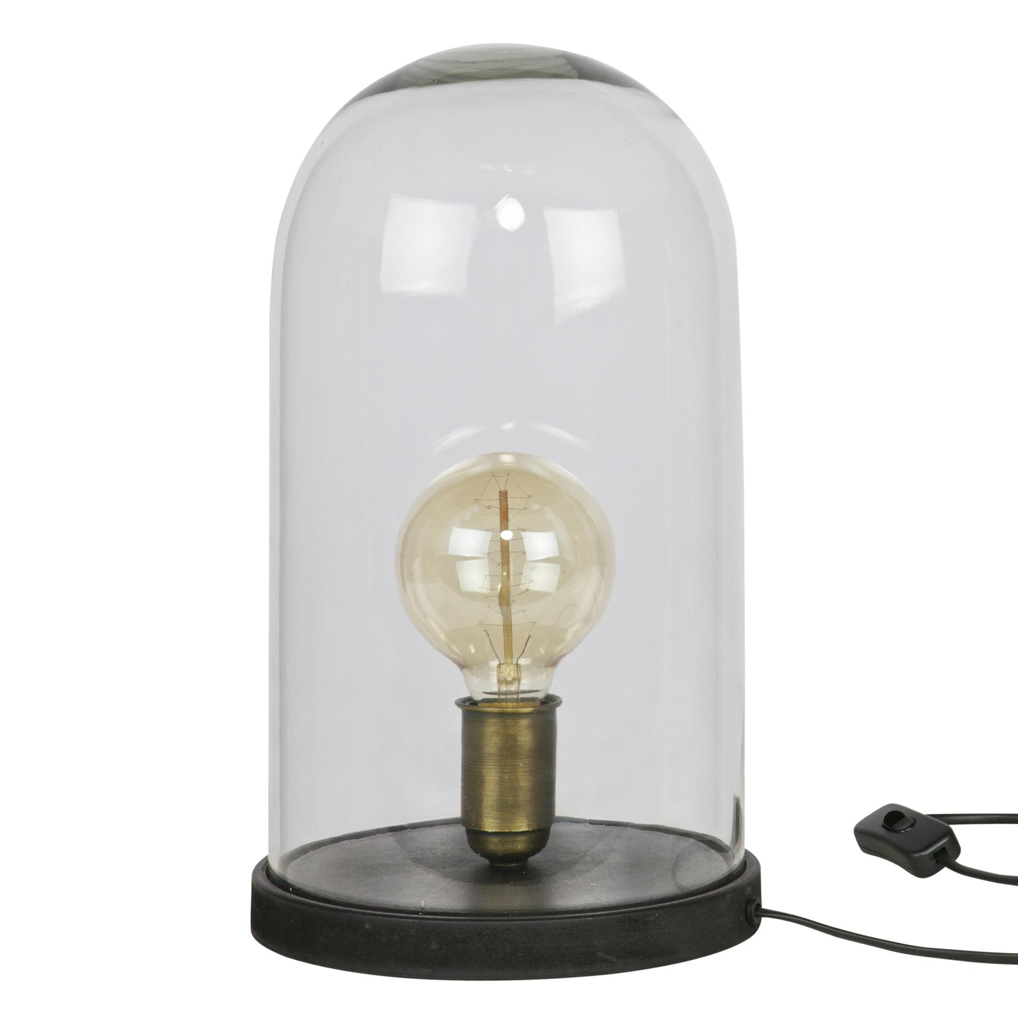 BePure tafellamp Cover Up zwart