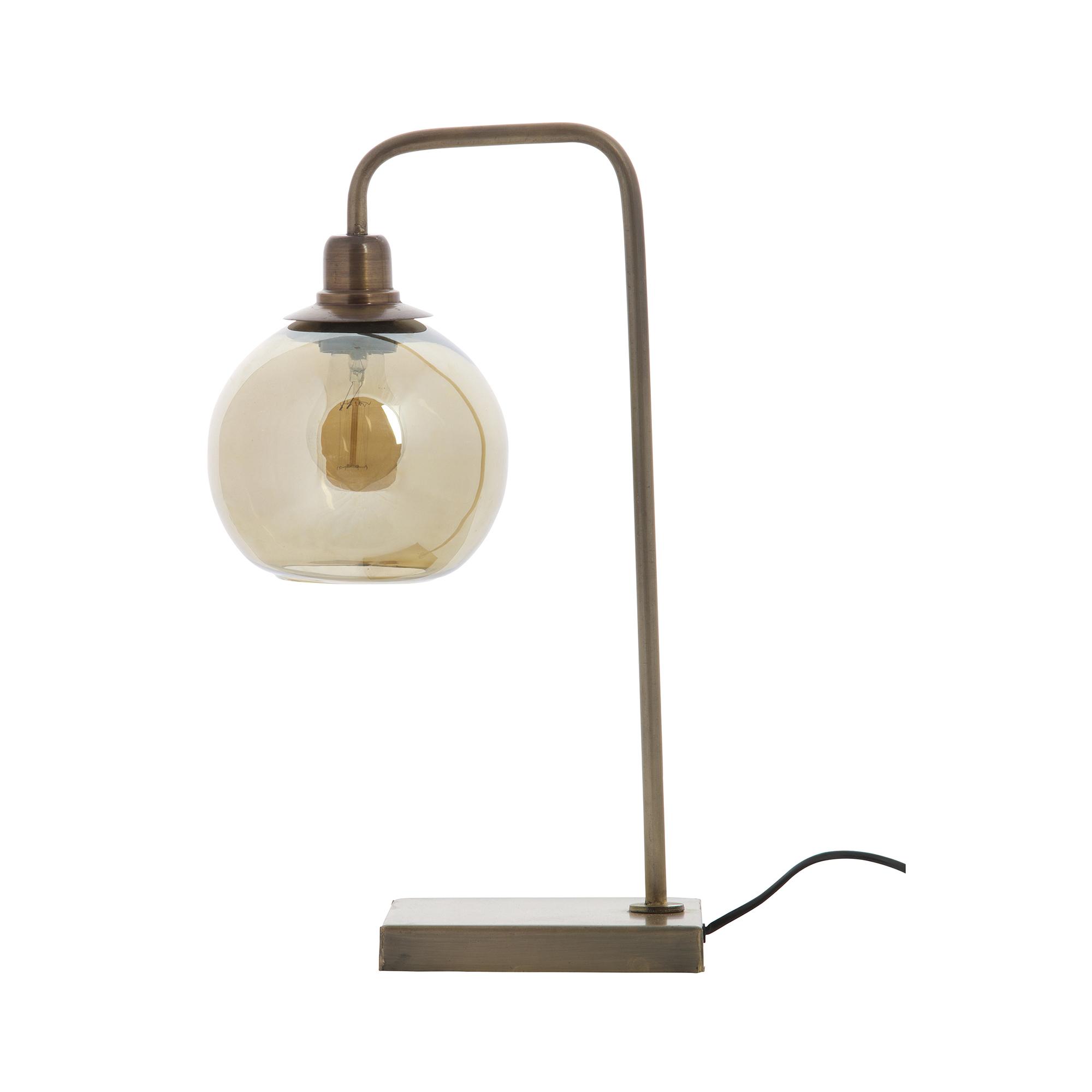 BePure tafellamp Lantern antique brass