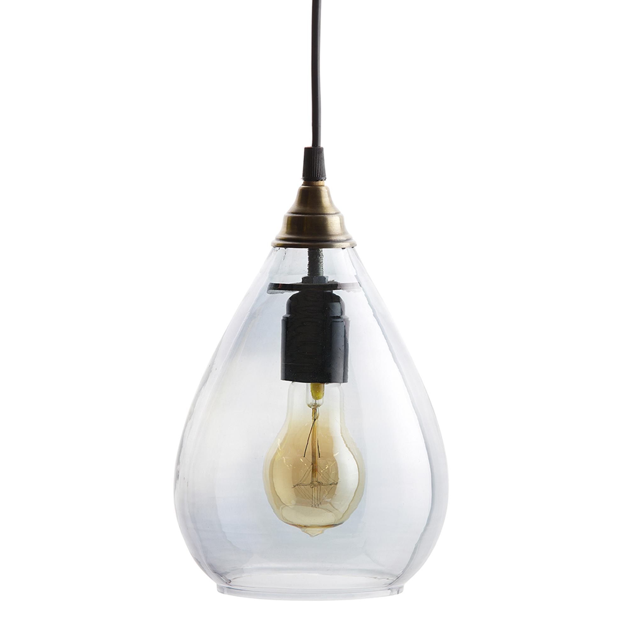 BePure Simple hanglamp L grijs