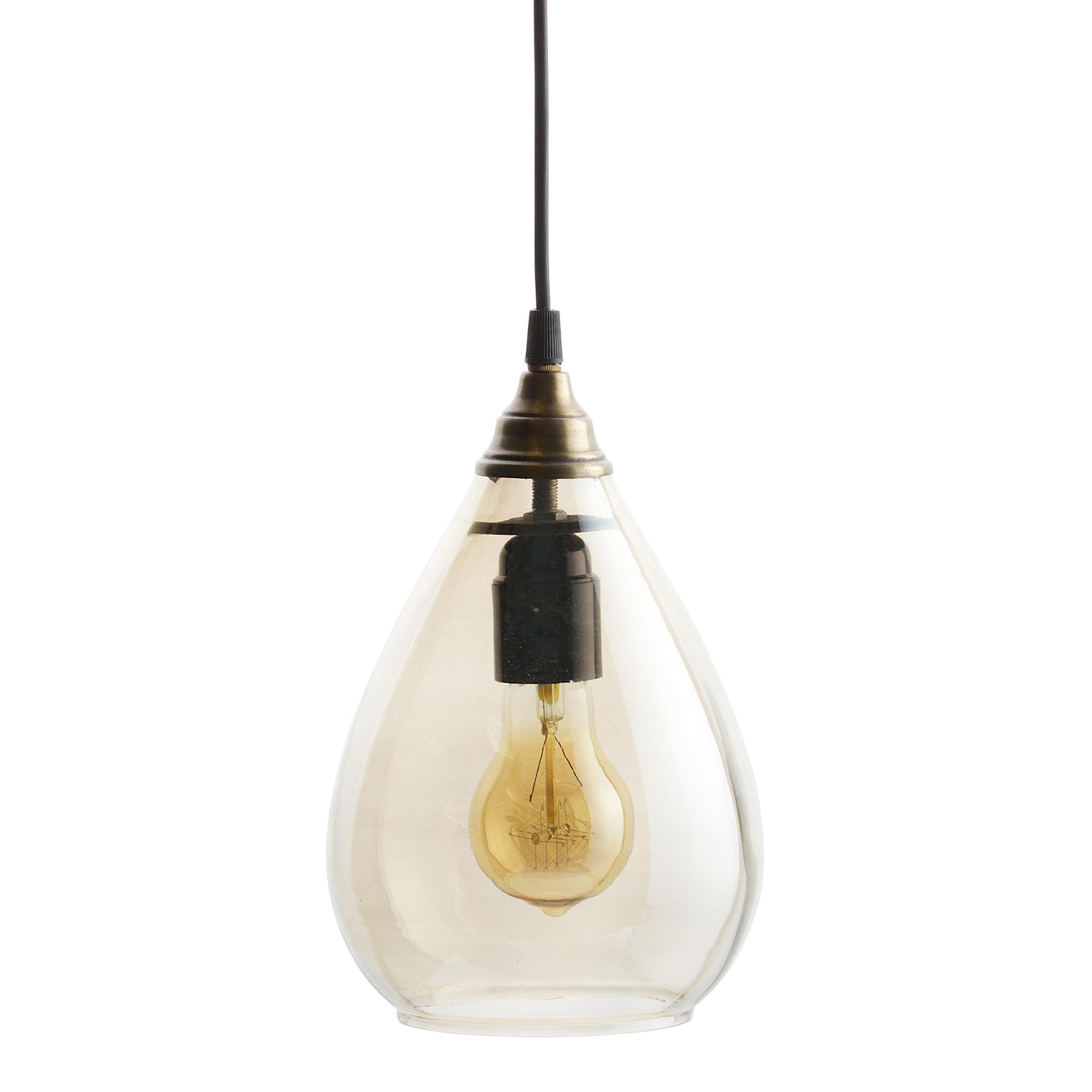 BePure Simple hanglamp M antique brass