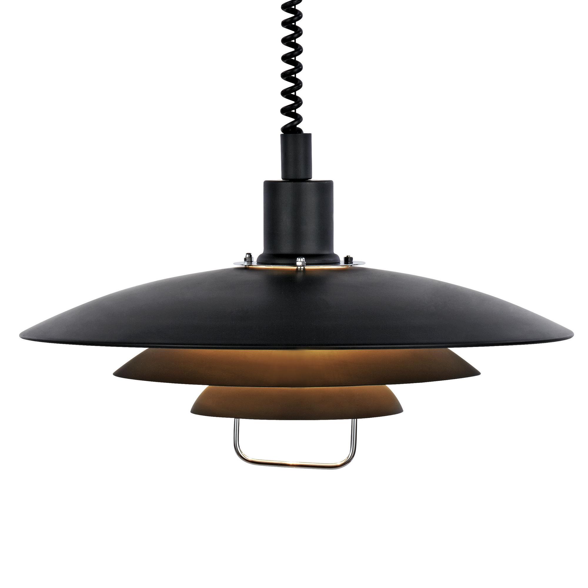 Kirkenes Hanglamp zwart
