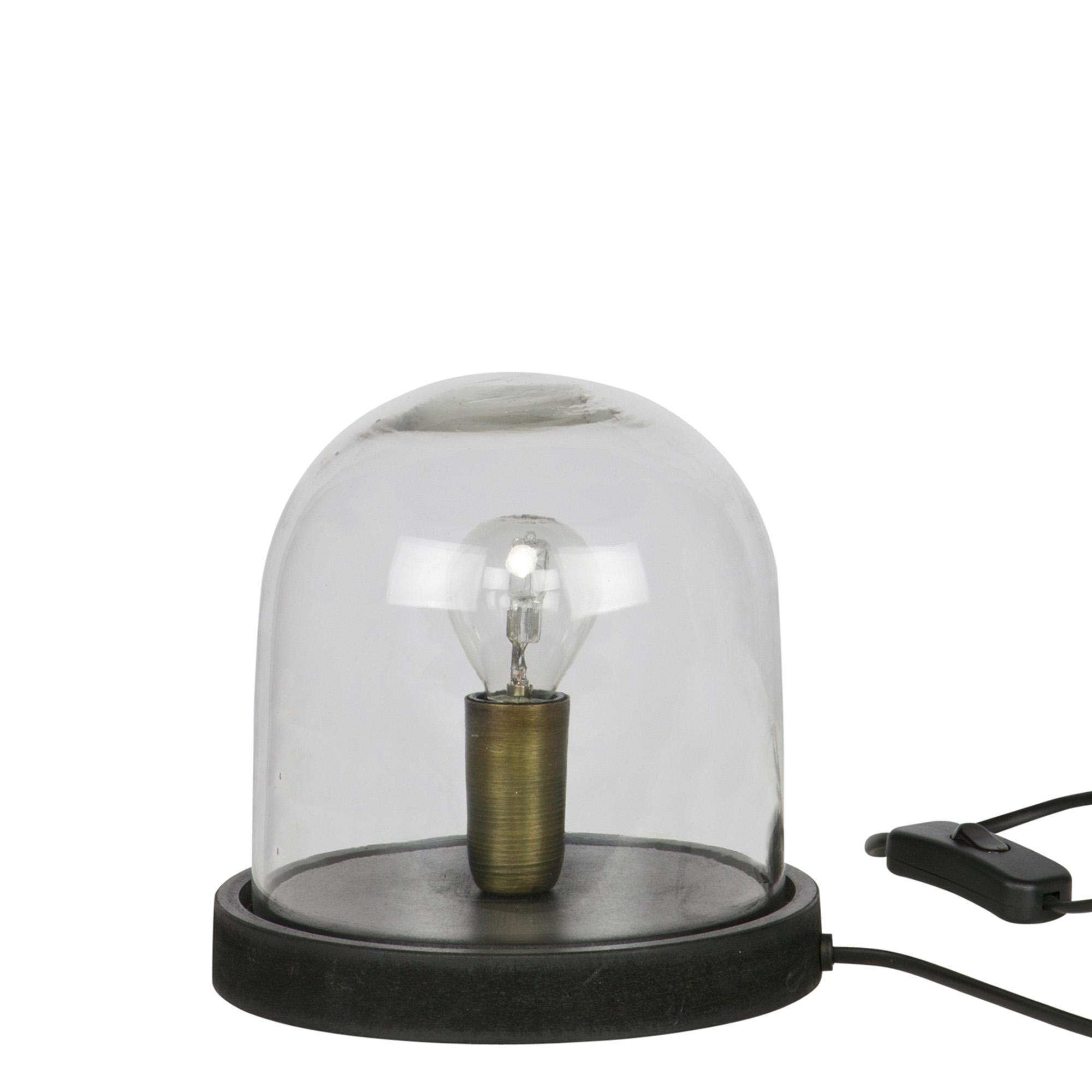 Nostaluce tafellamp Cover Up too zwart