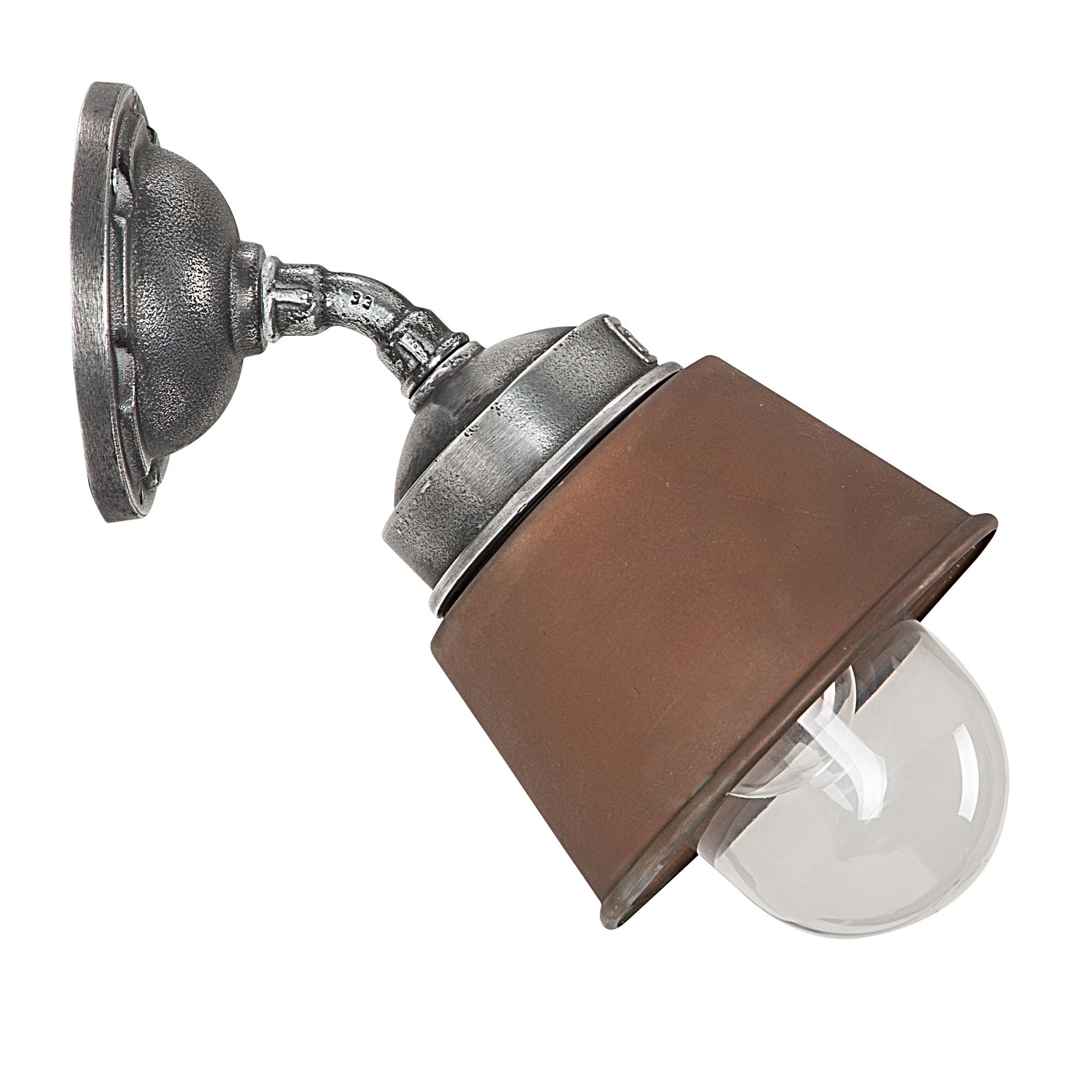 Wandlamp Kostas 45 Koper