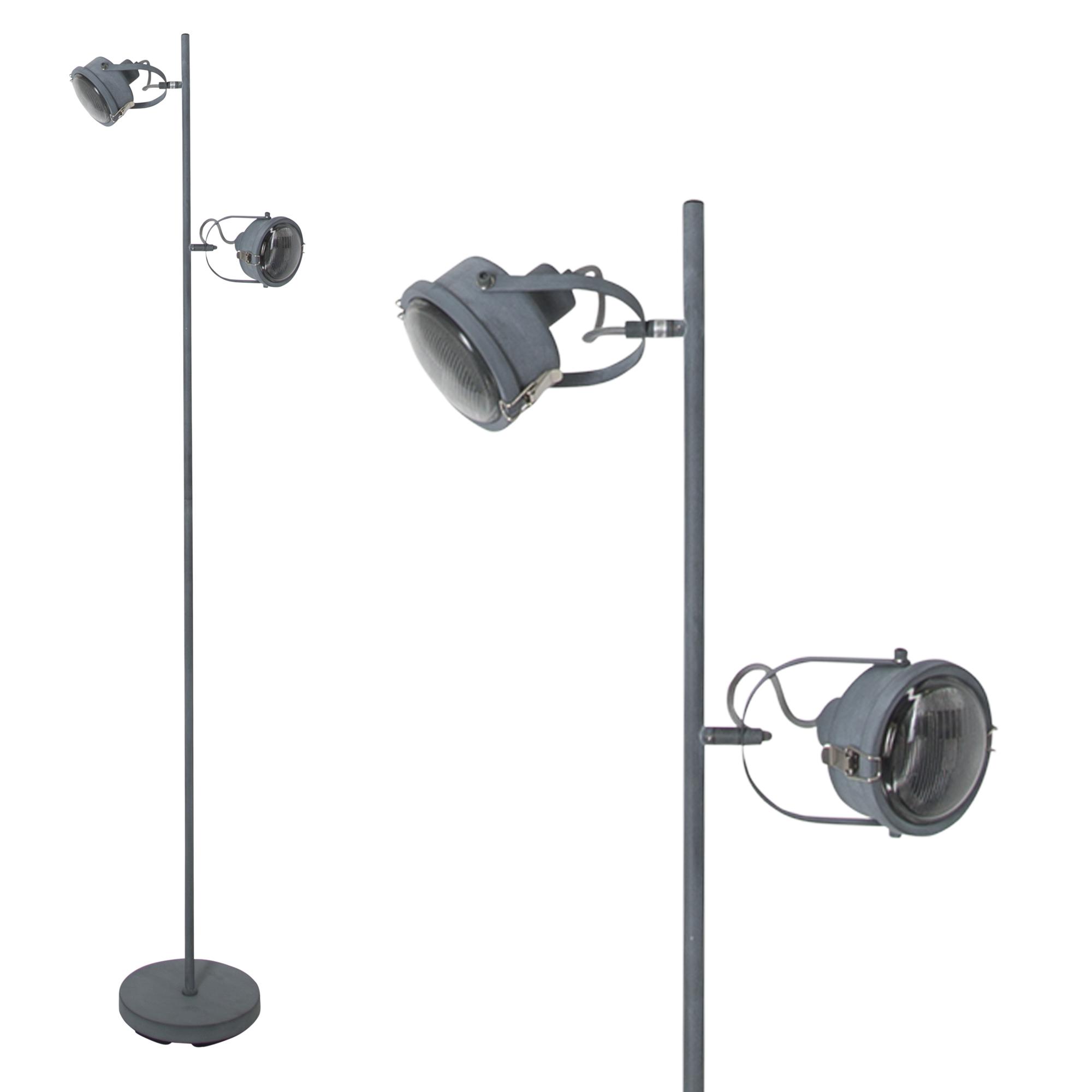 Satellite Vloerlamp grijs