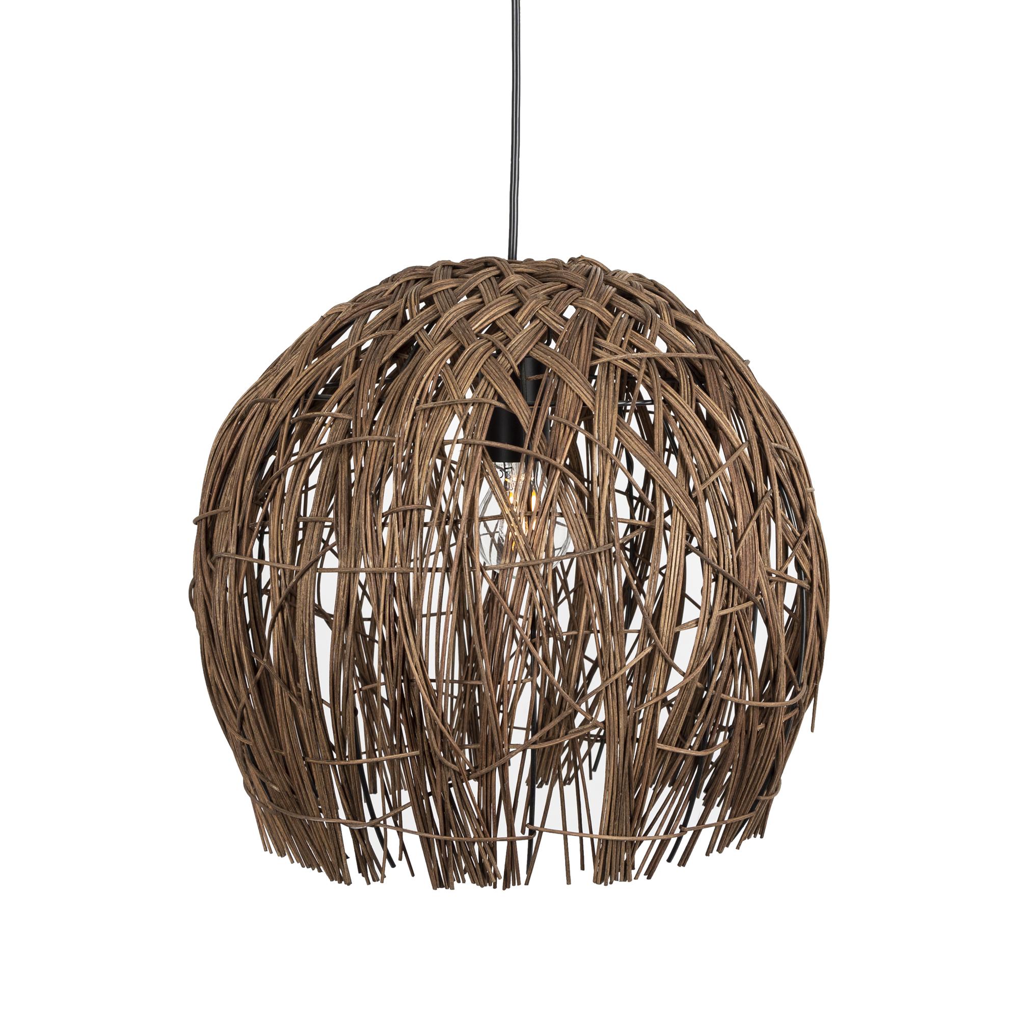 Cocoon hanglamp bruin