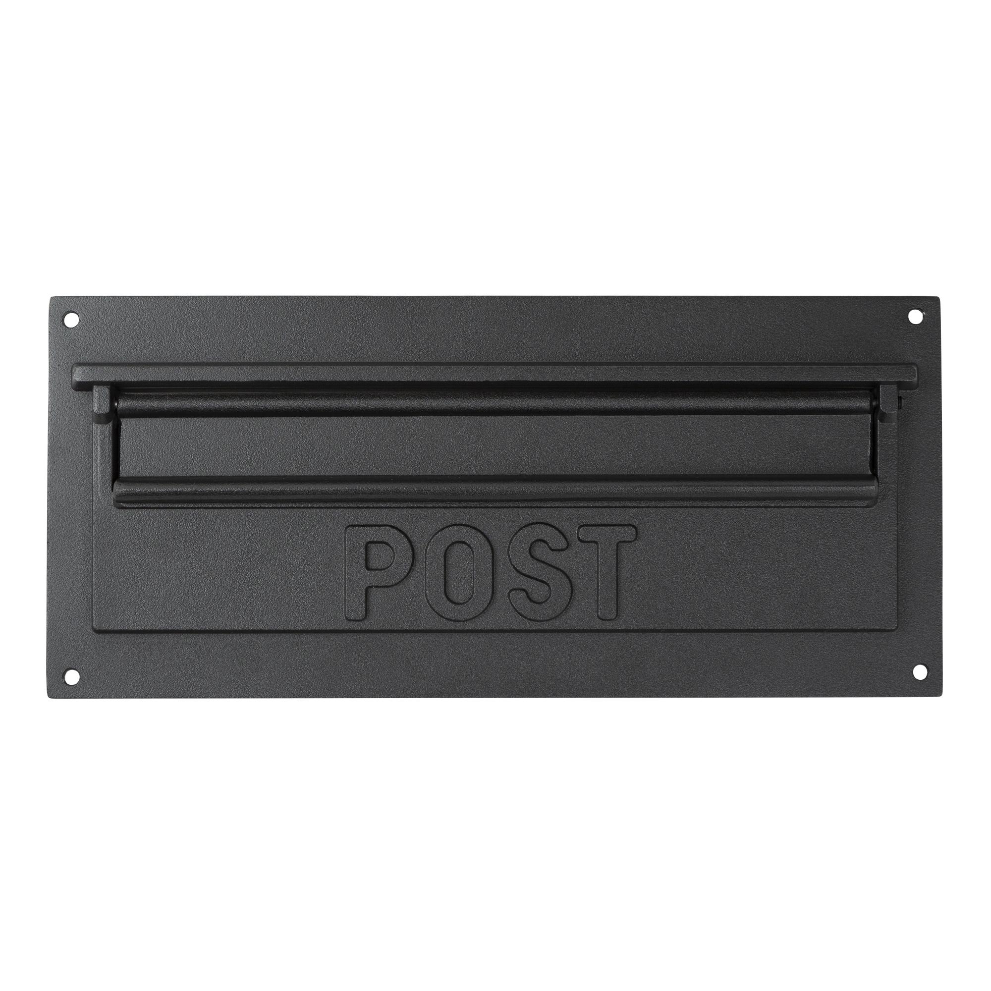 Jaren '30 Inbouw brievenbus inworp - Voorpaneel