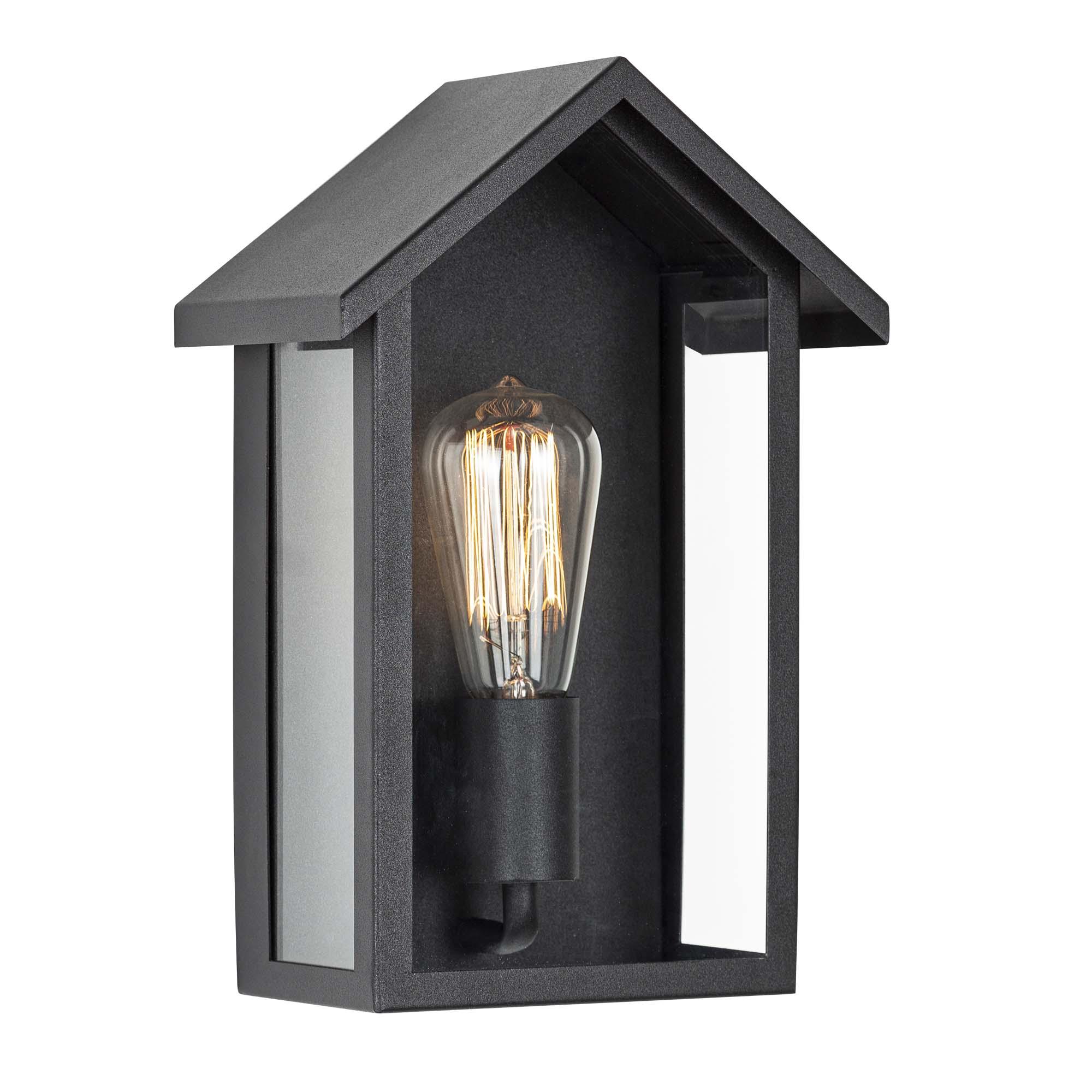 Wandlamp Casa Zwart