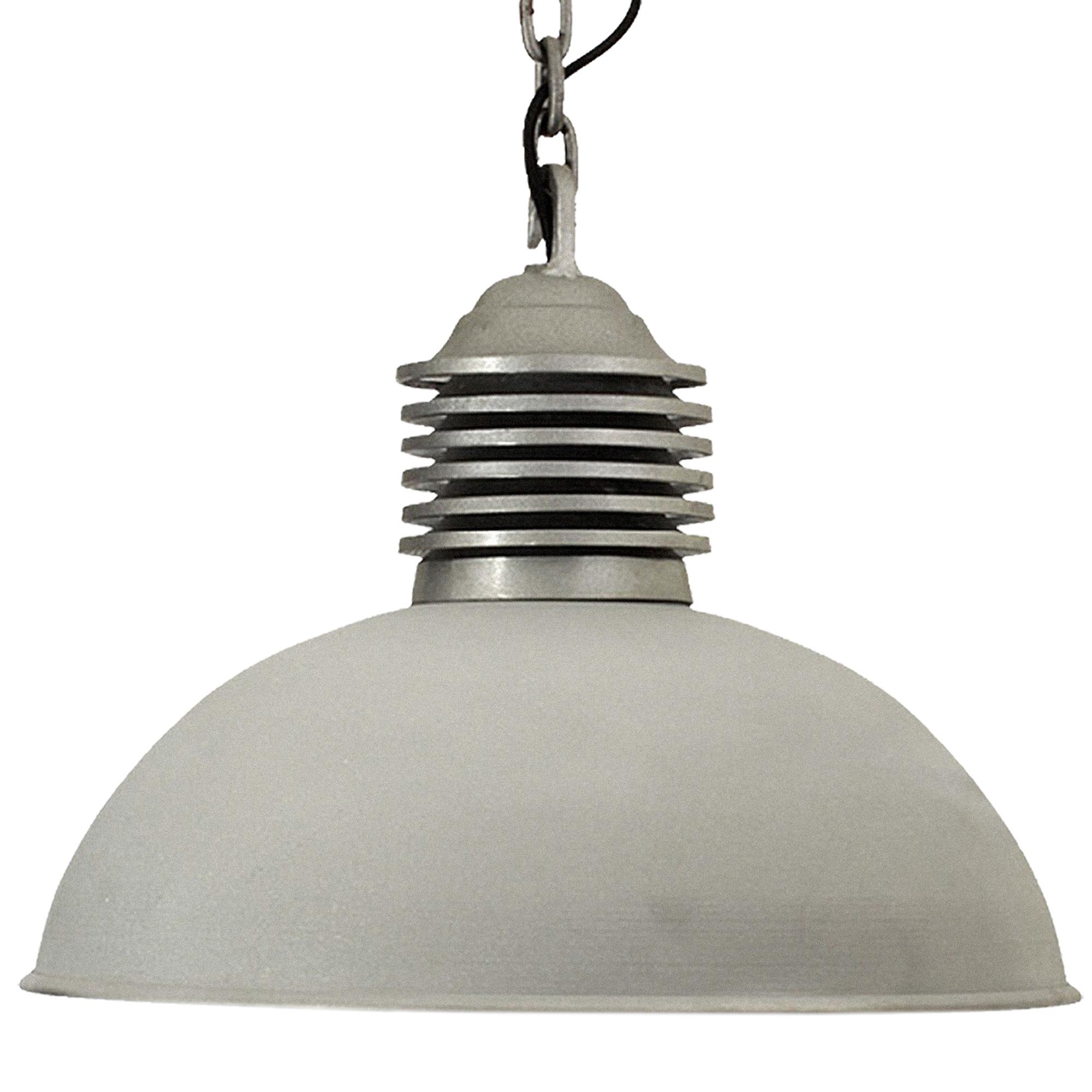 Hanglamp Old Industry XXL Ruw Alu.
