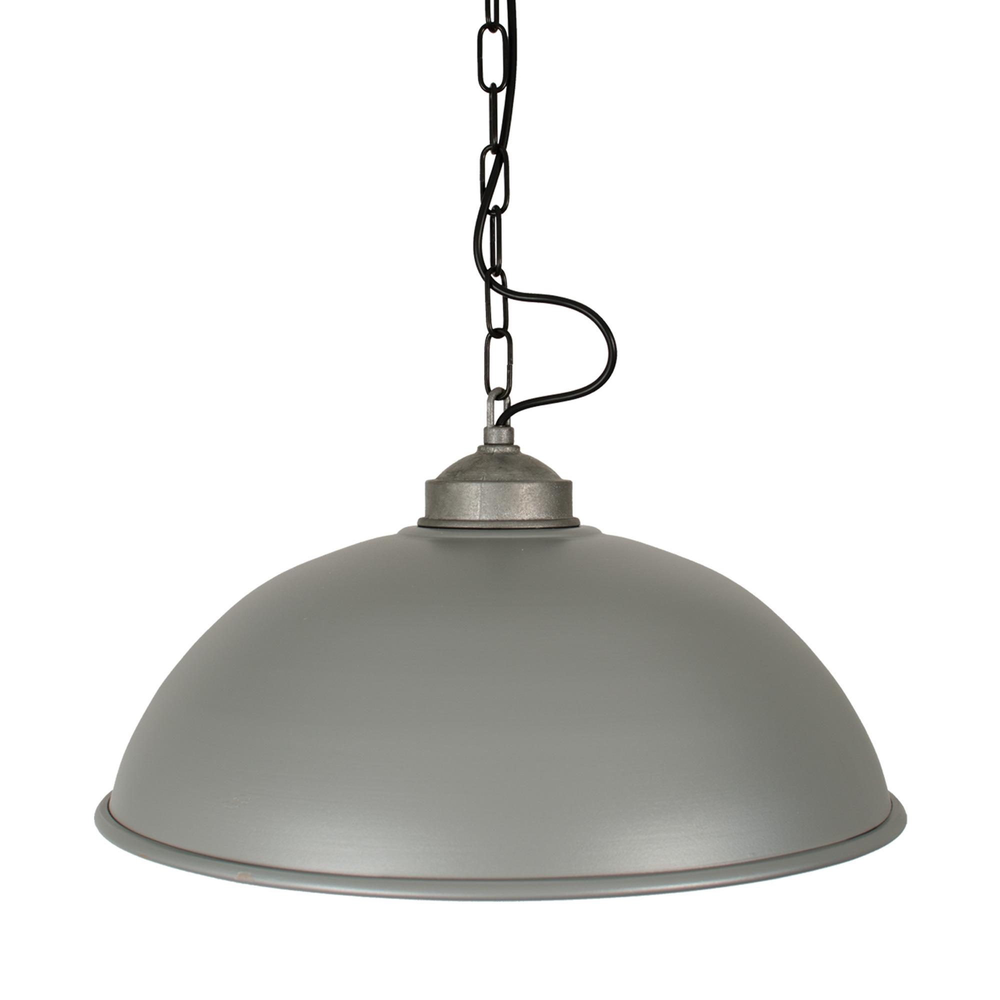 Hanglamp Industrial XL Ruw Alu.
