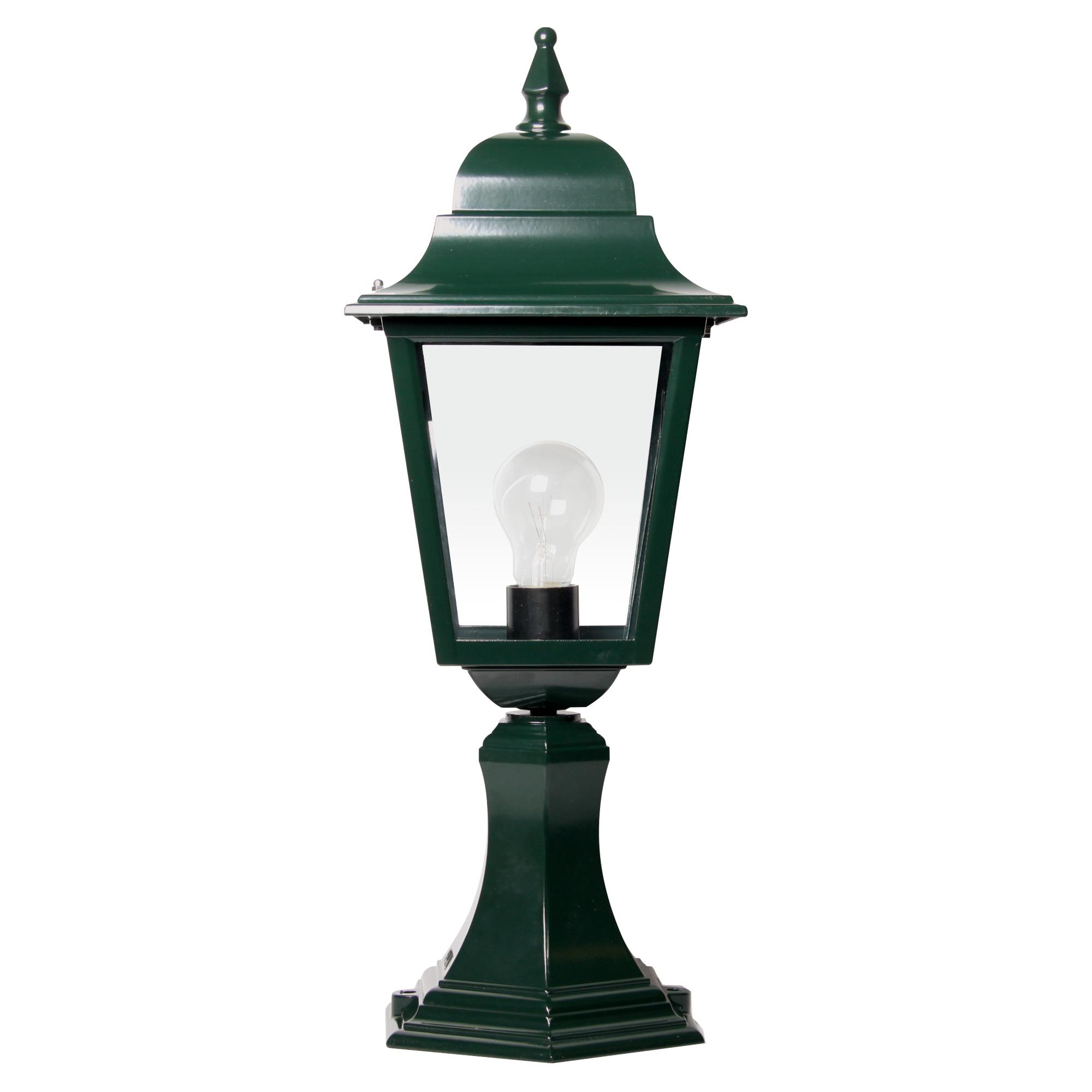 Buitenlamp Sorrento sokkel Dag Nacht Schemersensor LED