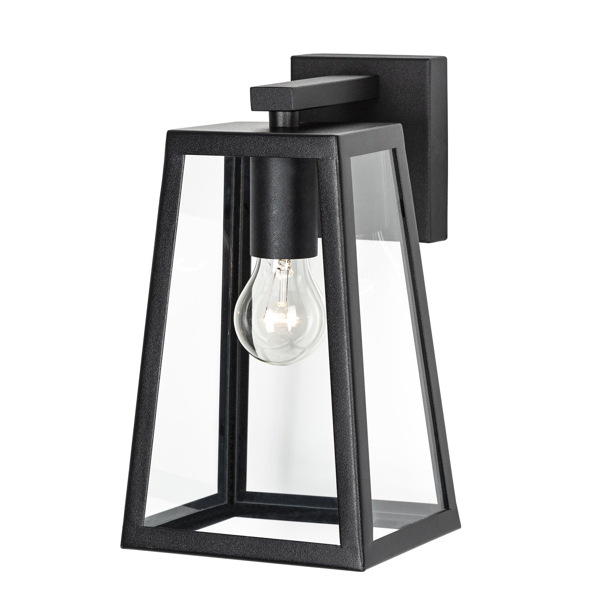 Buitenlamp Luuk Zwart Design Wandlamp