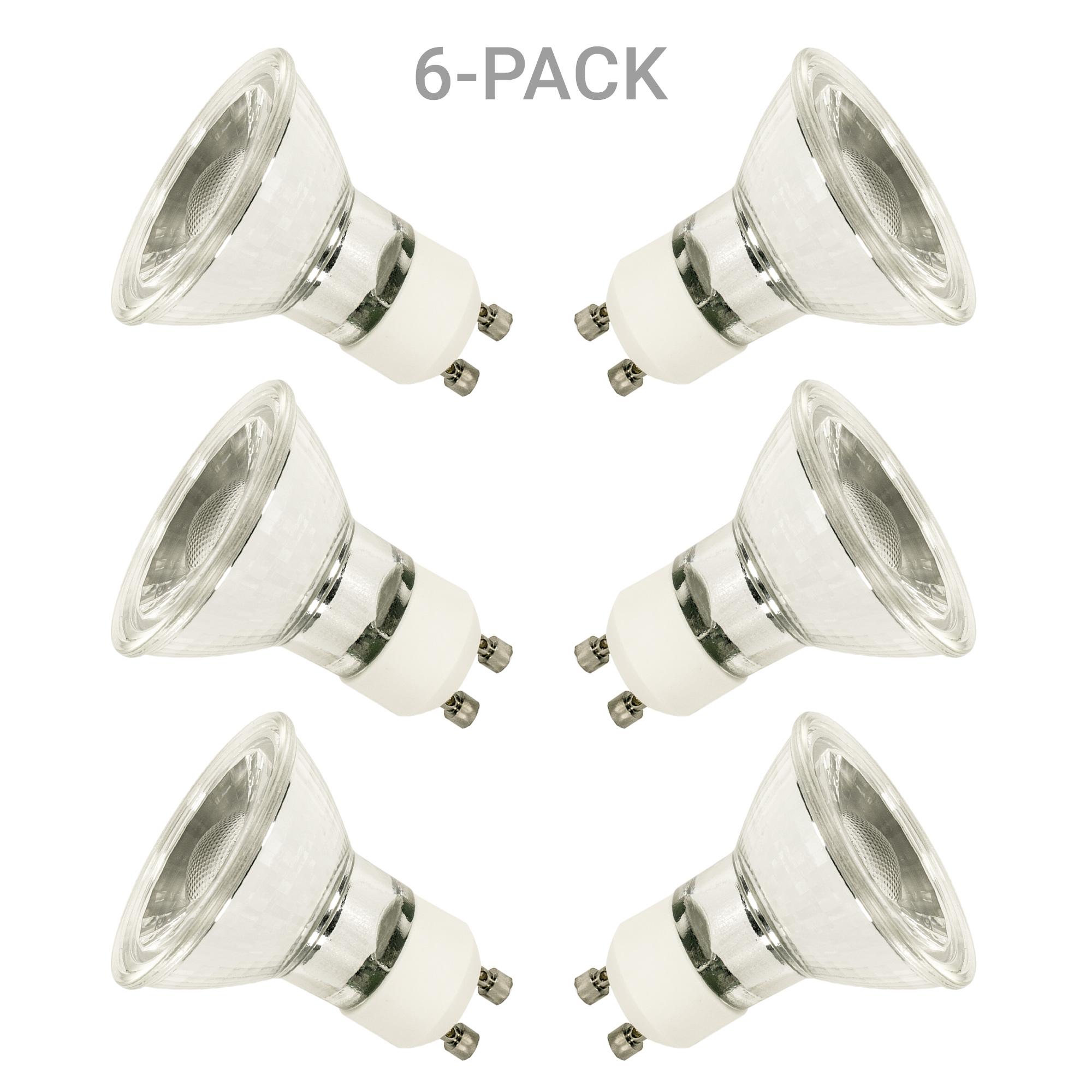 6-pack GU10 LED