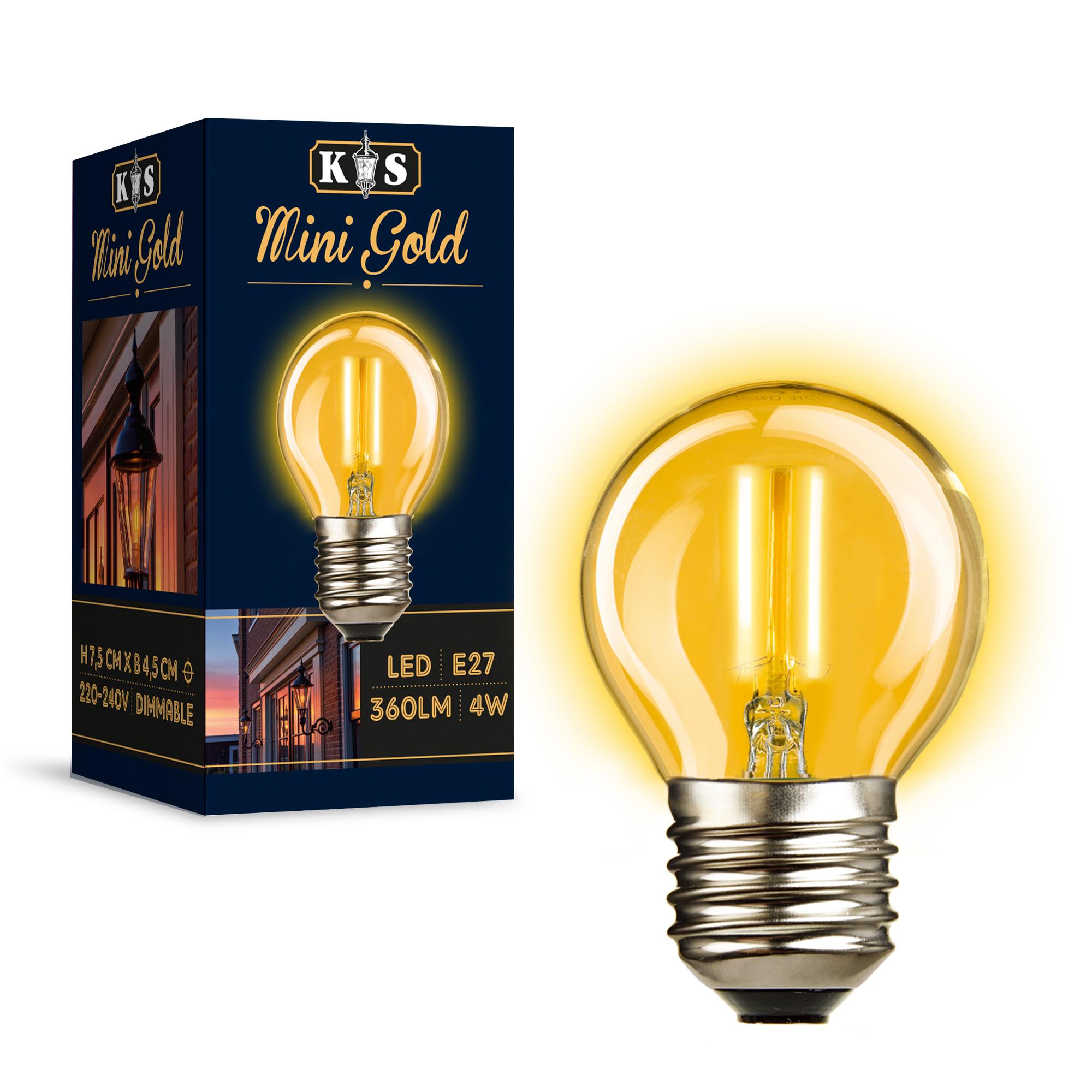 Mini Gold LED