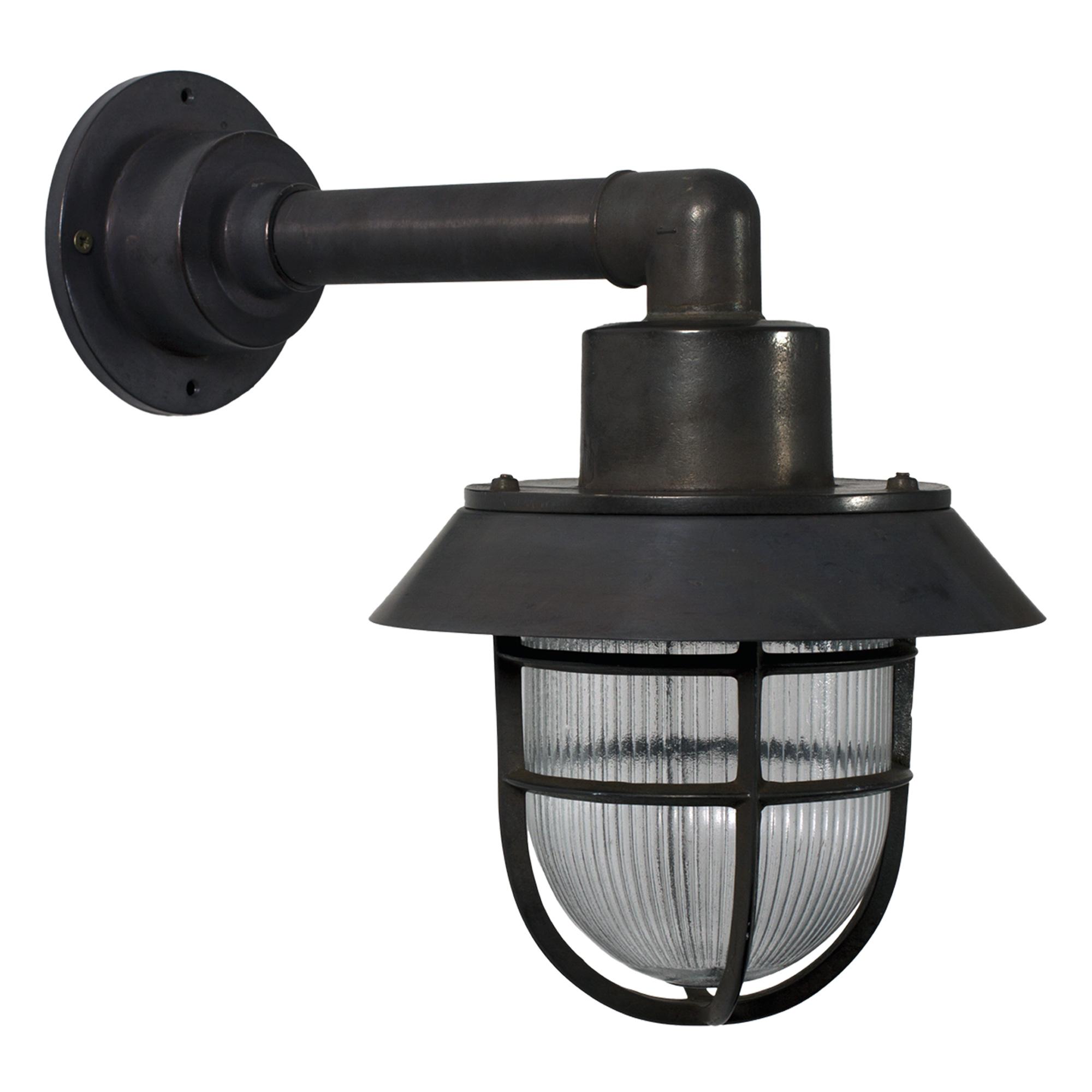 Docklight Muurlamp Zwart