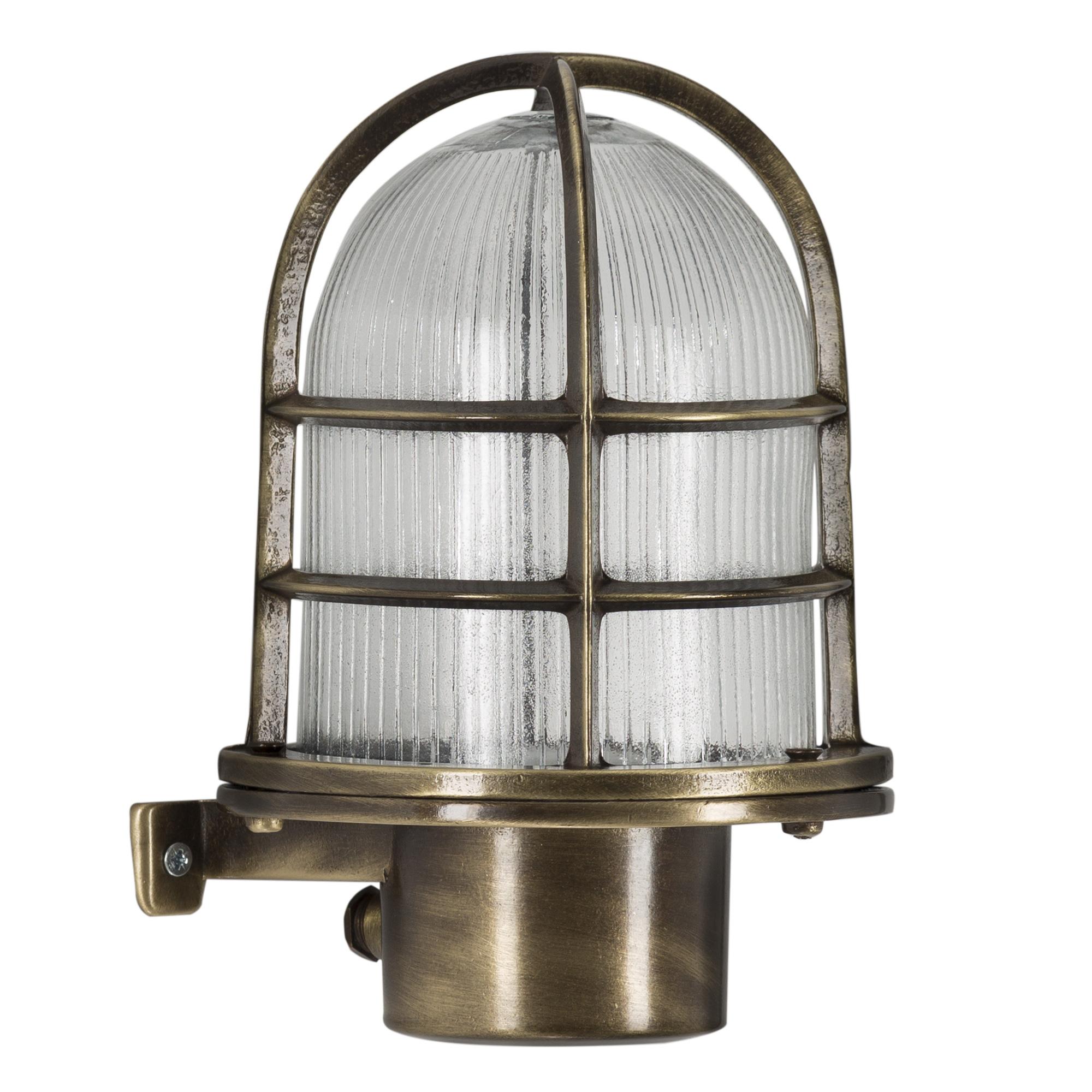 Scheepslamp Caspian I Brons