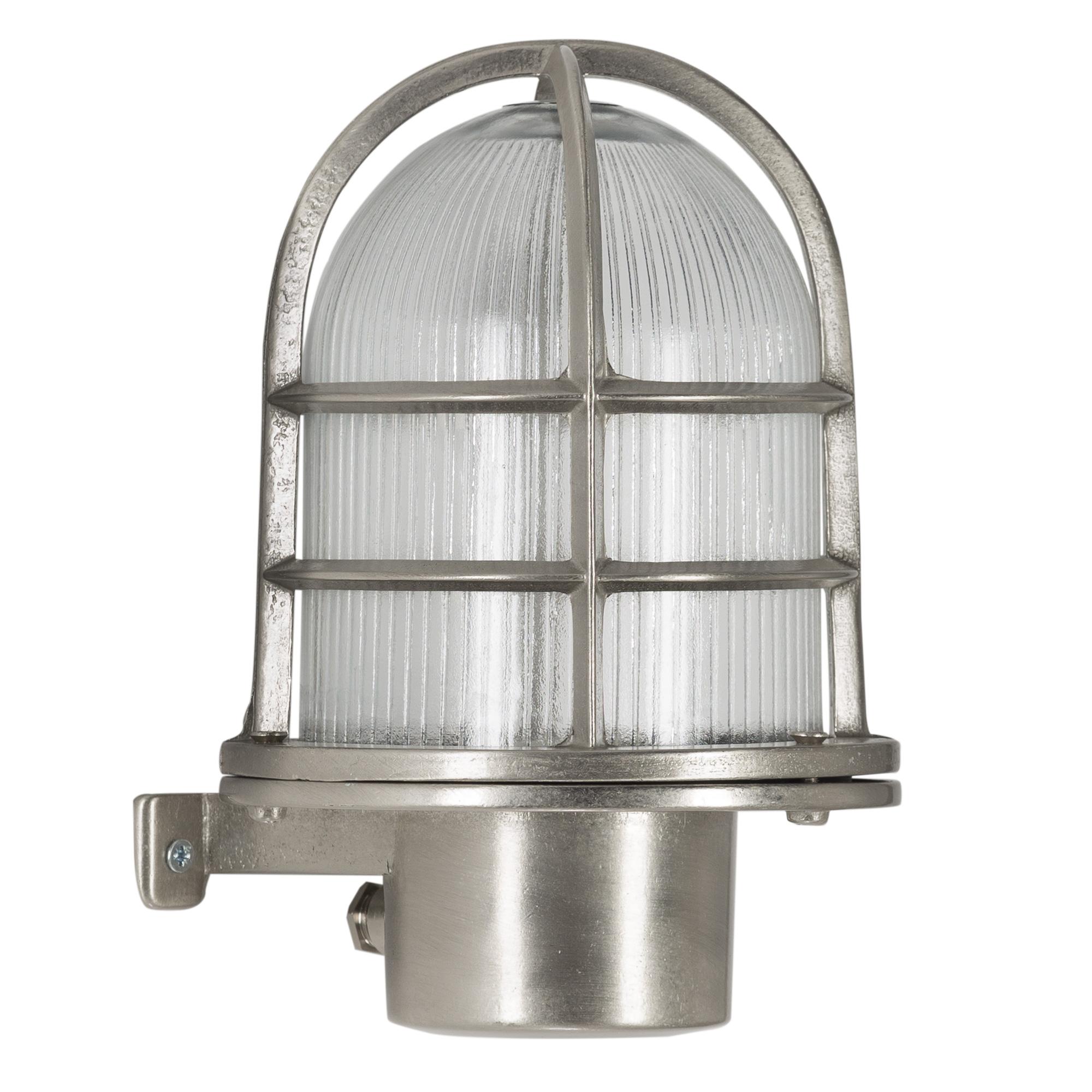 Scheepslamp Caspian I Nikkel