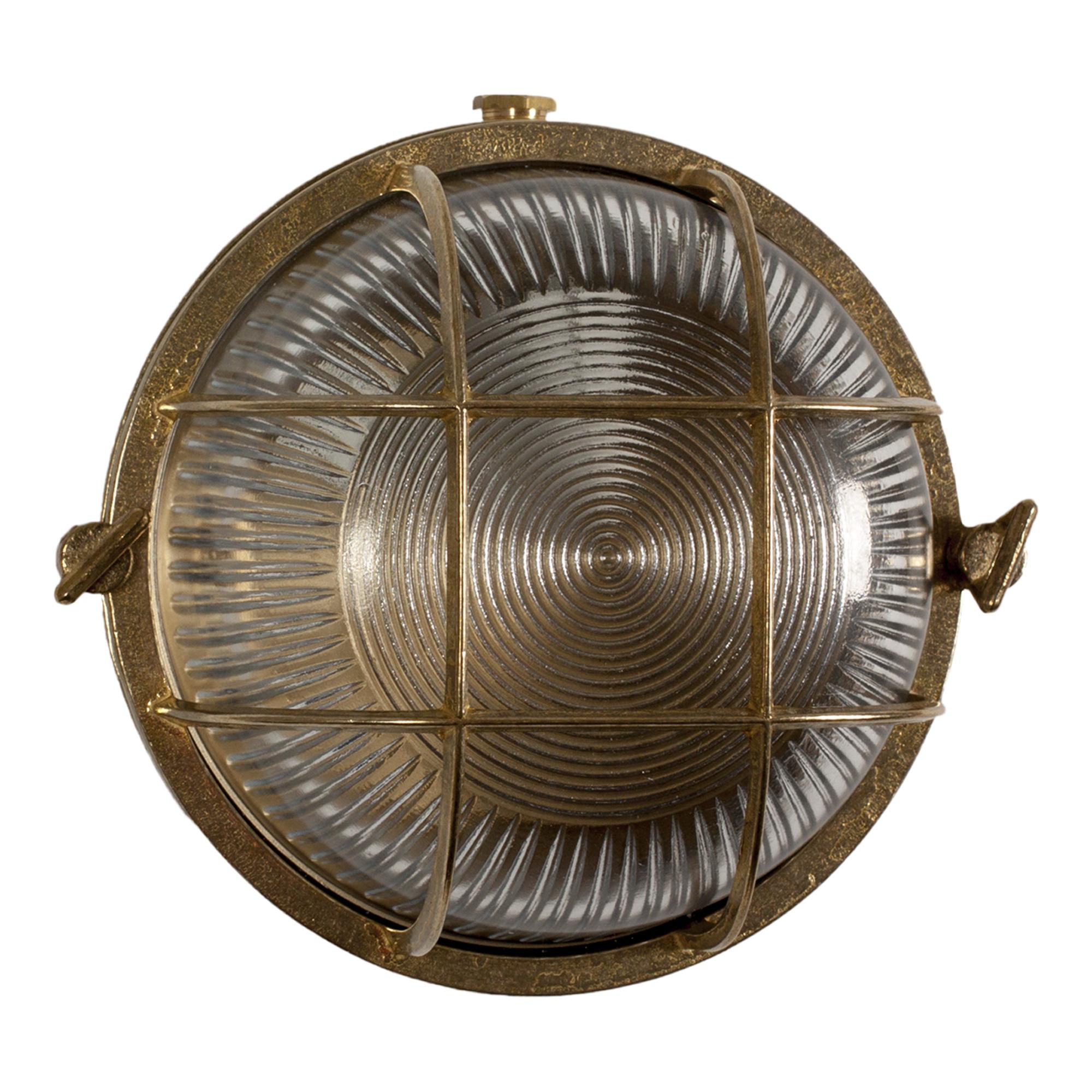 Scheepslamp Ocean 3 Brons