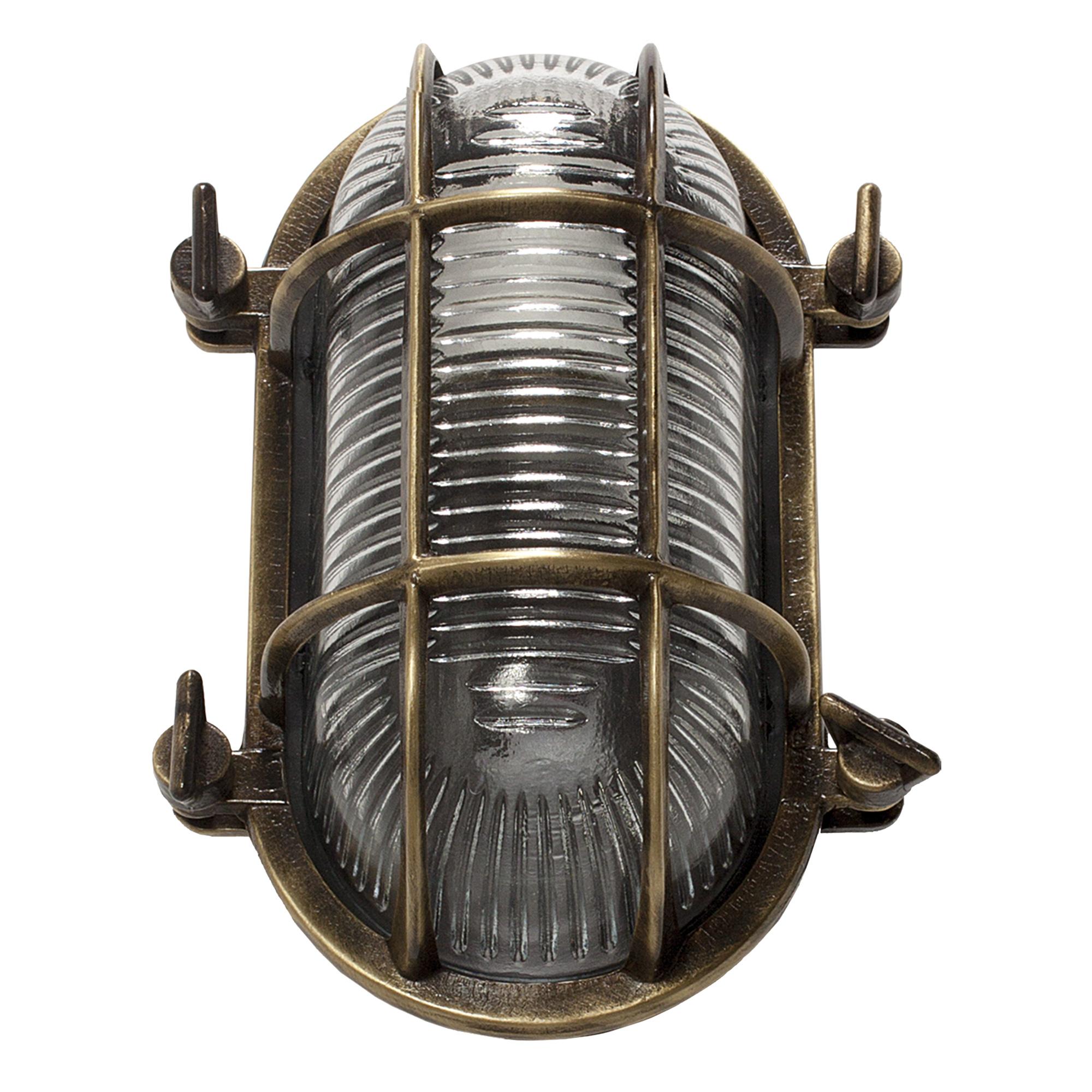 Nautic III Scheepslamp Brons