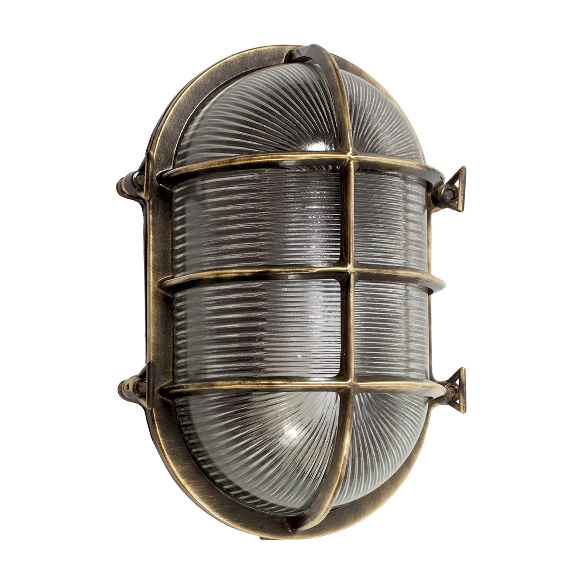 Scheepslamp Nautic IV Brons