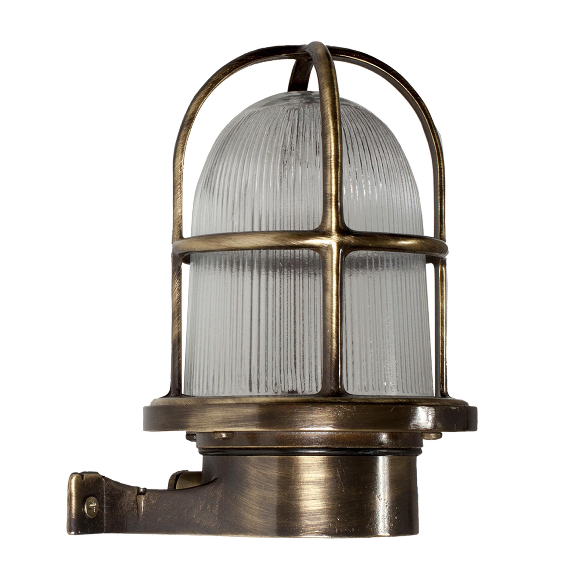 Scheepslamp Caspian II Brons