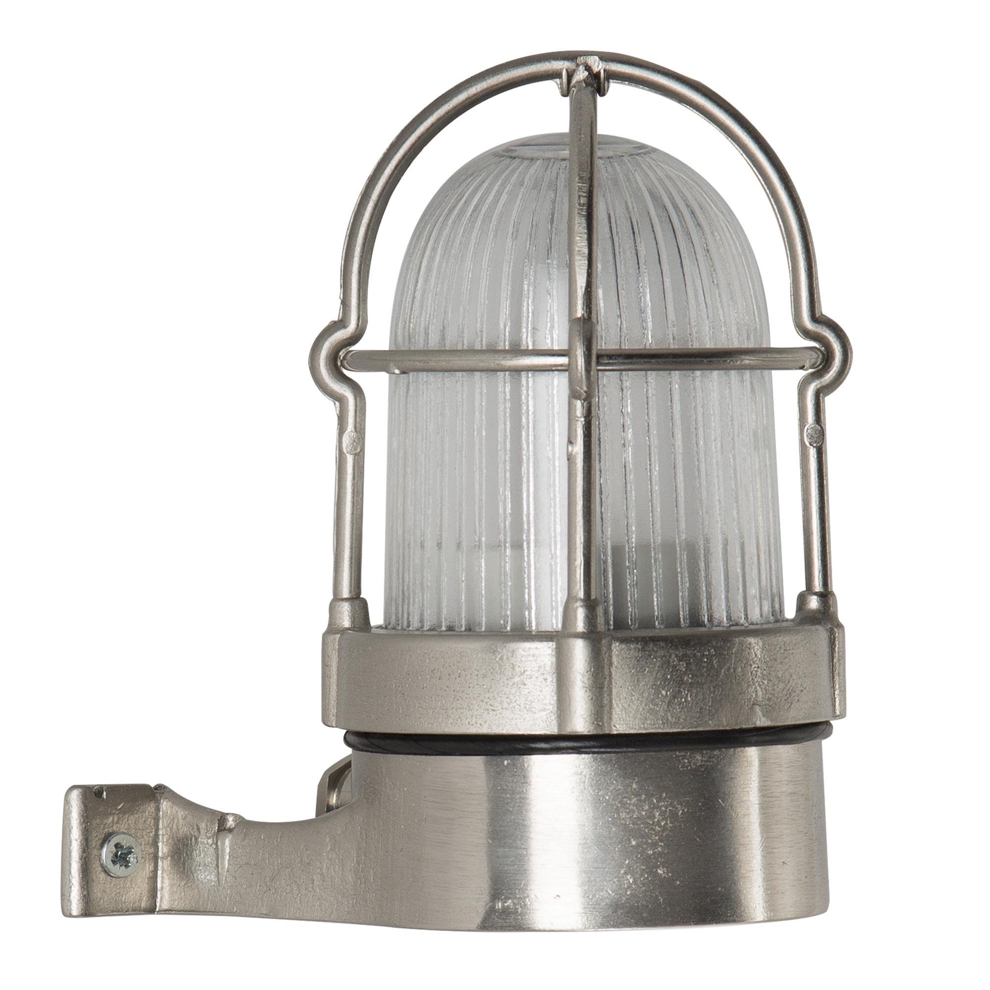 Scheepslamp Caspian III Nikkel