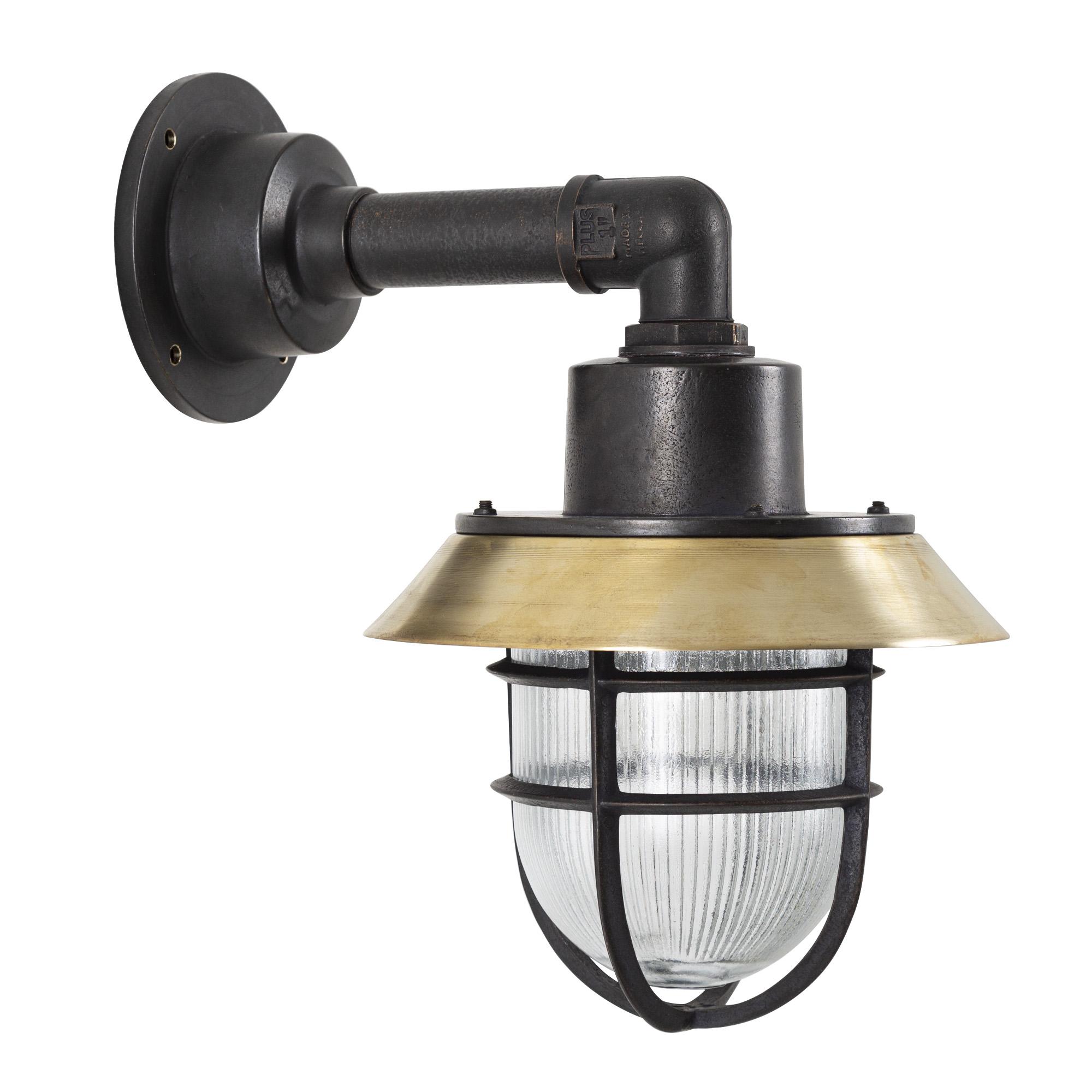Dockyard Muurlamp Zwart