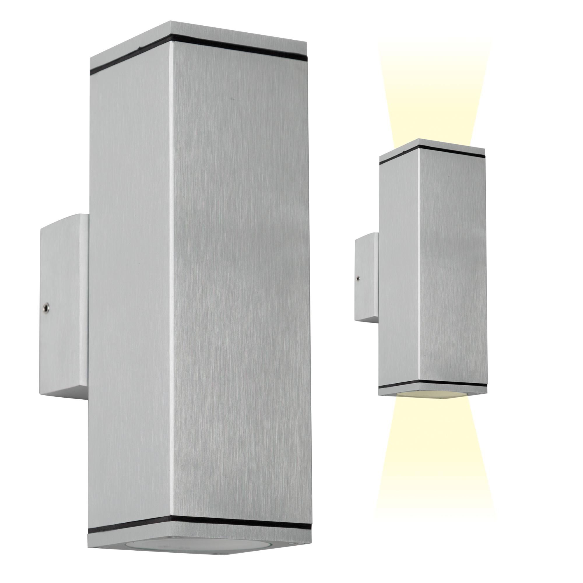 Wandspot Kelvin Up Down Aluminium LED Actie