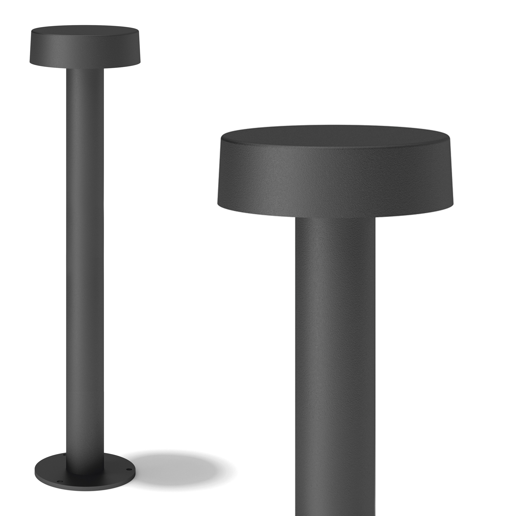 Iso Tuinlamp zwart