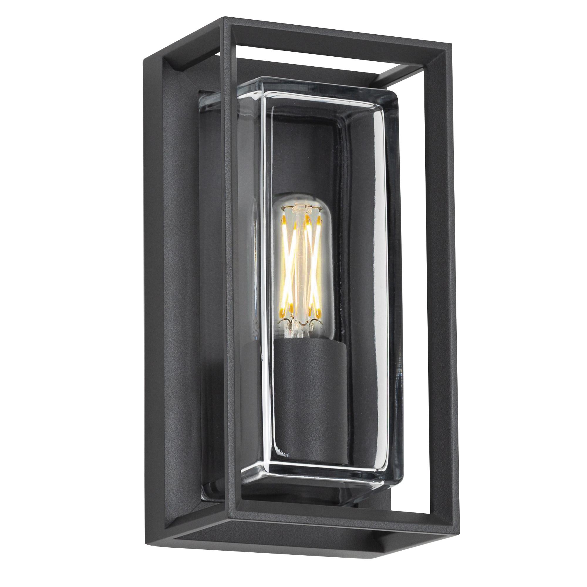 Buitenlamp Eaton Wandlamp Zwart