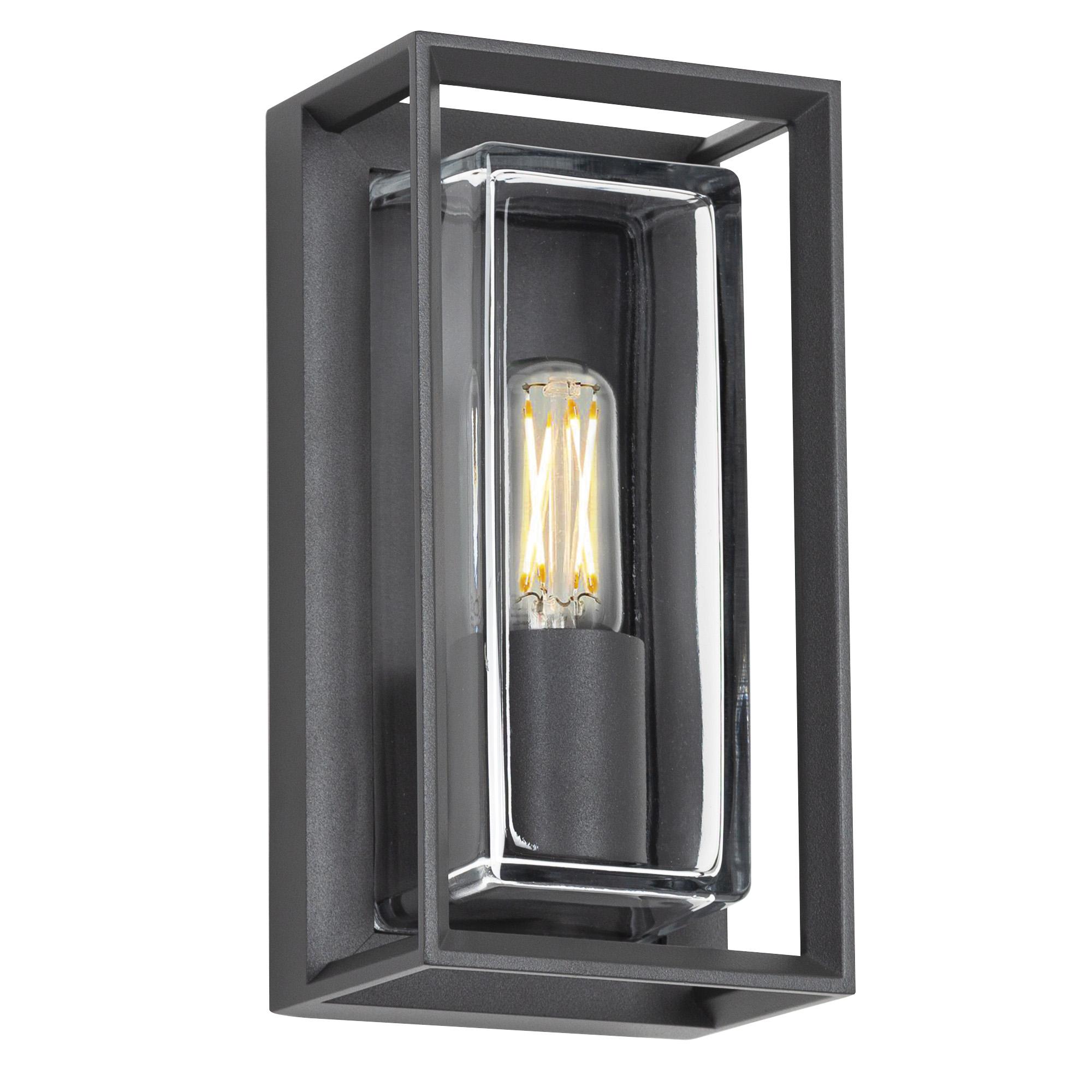 Wandlamp Eaton antraciet