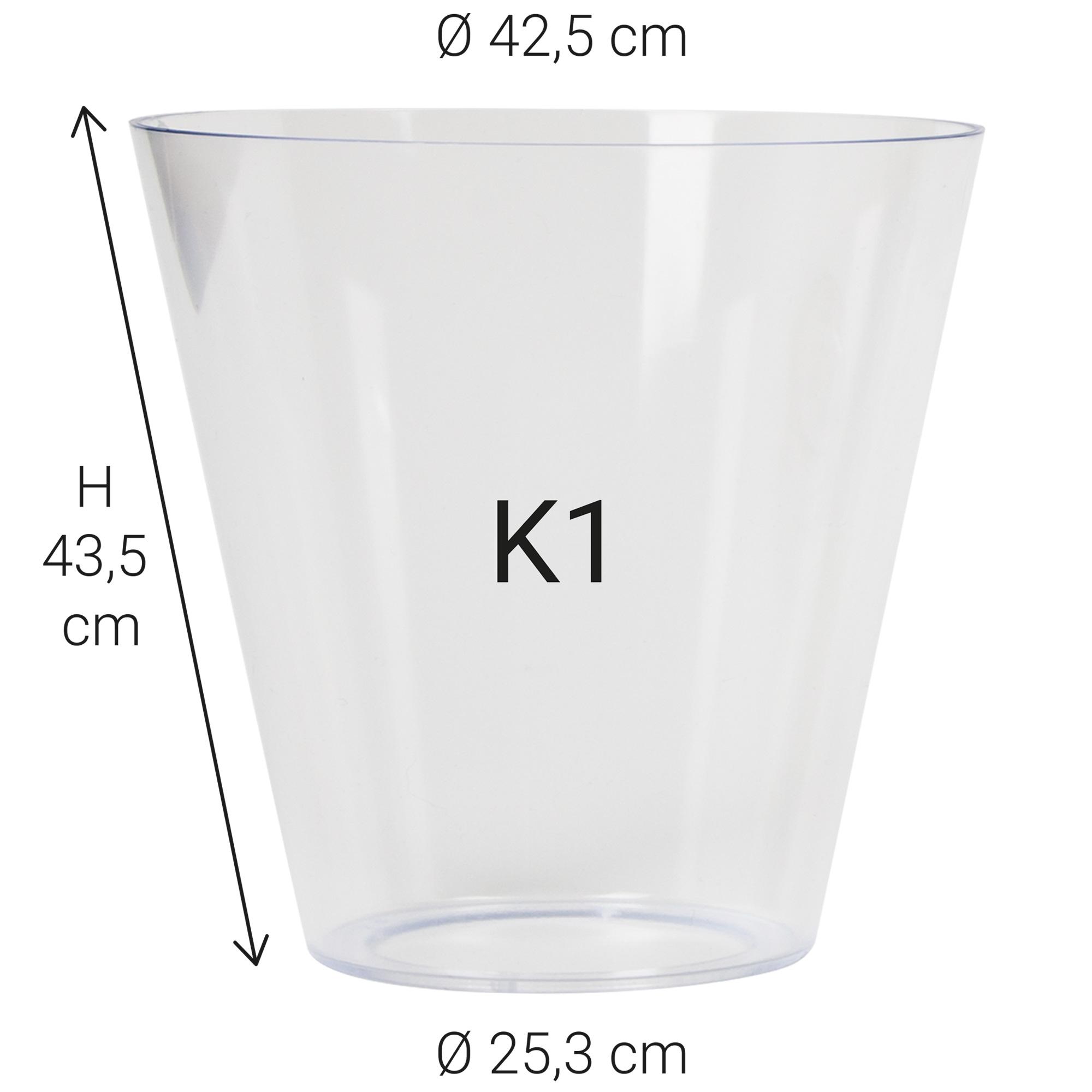 Kunststof glas K1