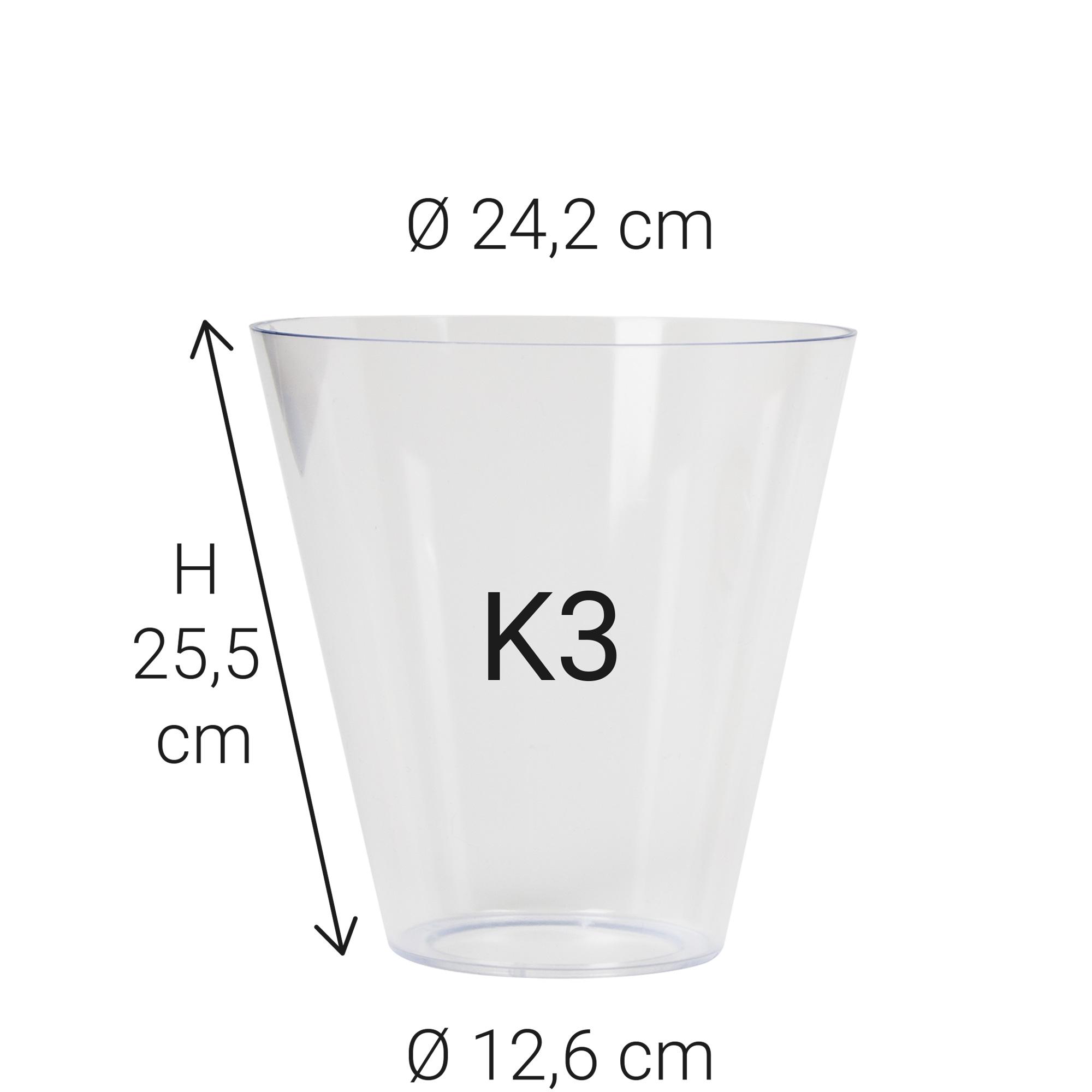 Echt Glas K3