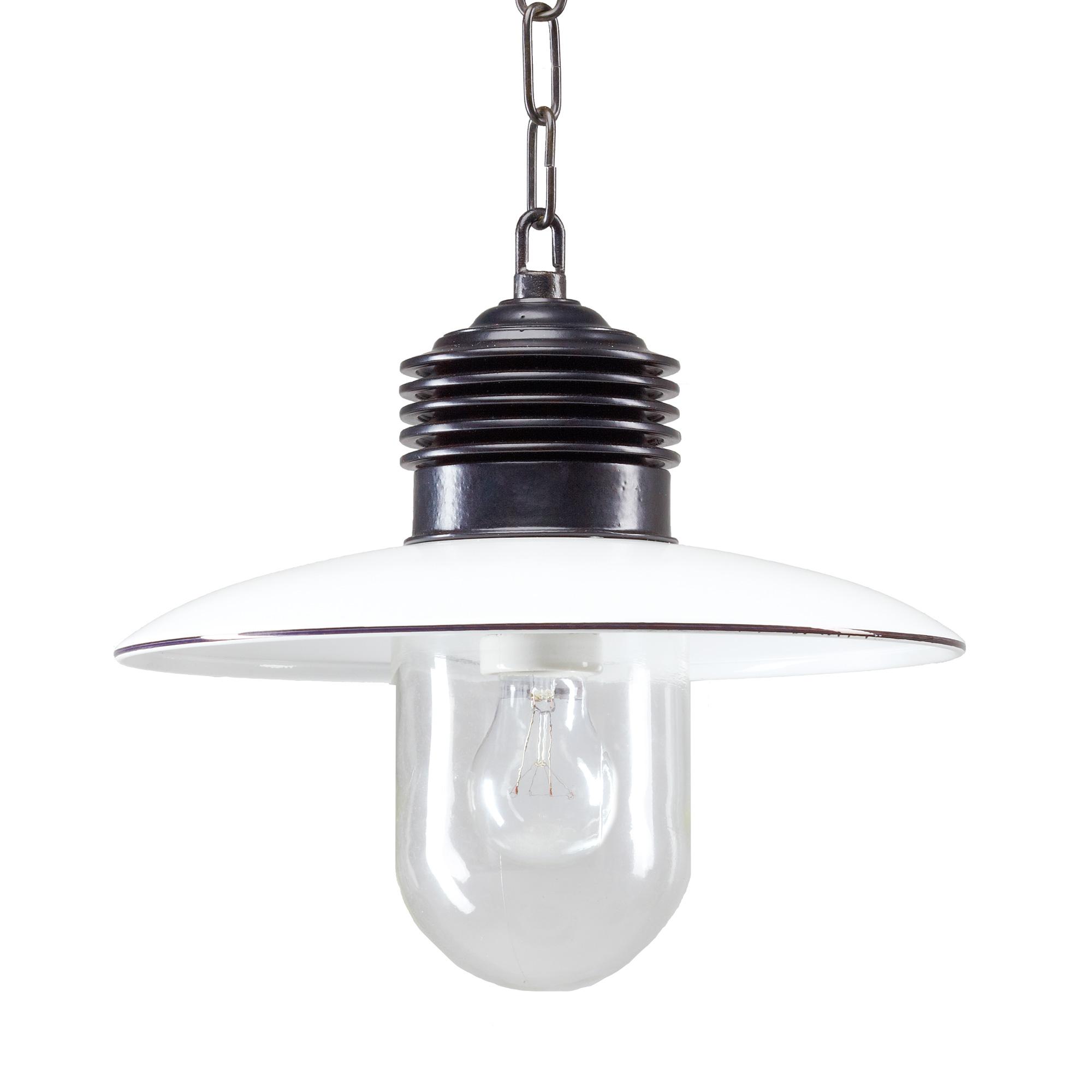 Hanglamp Ampere ketting Zwart Wit