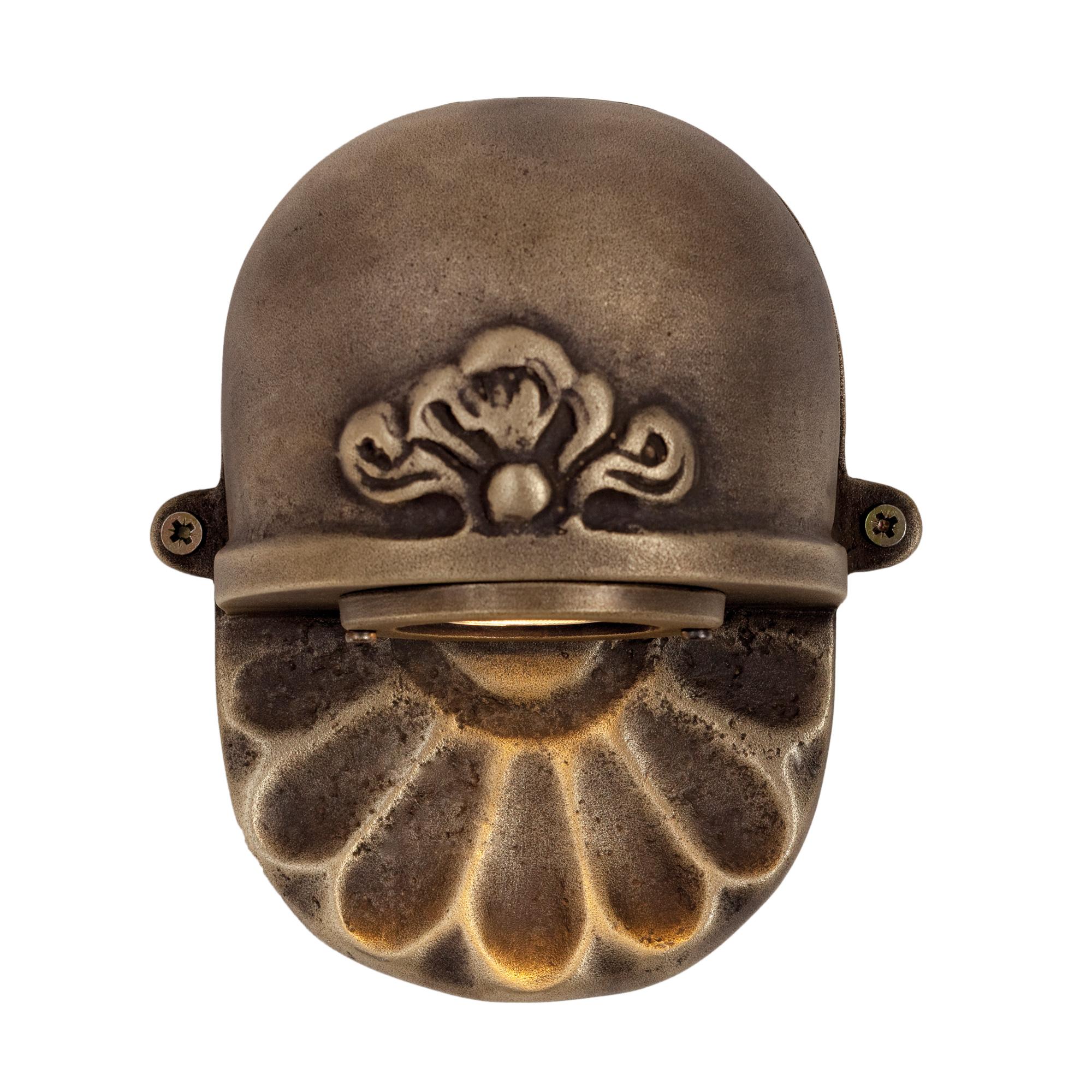 Tramonto wandspot brons