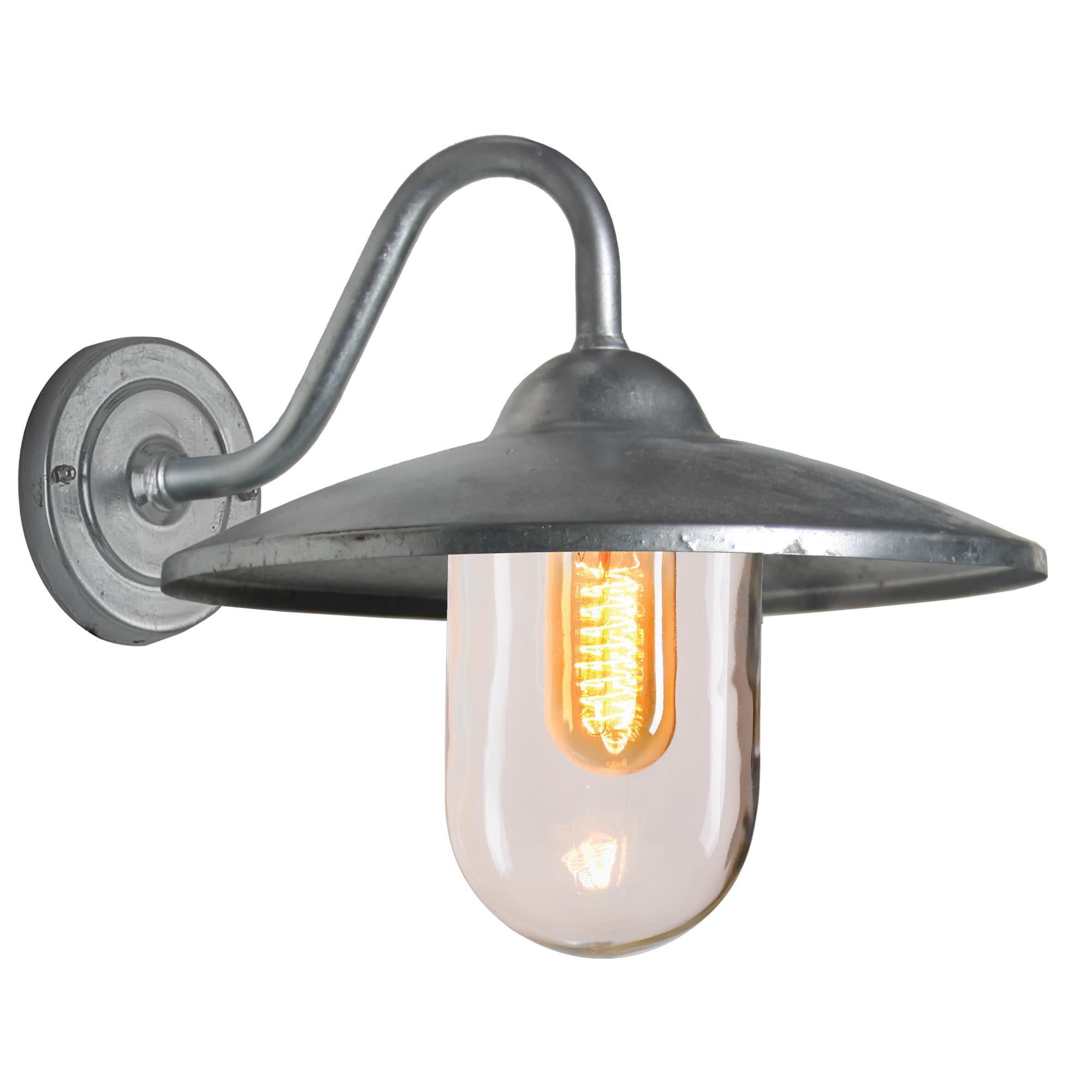 Buitenlamp Brig gegalvaniseerd Dag Nacht Schemersensor LED