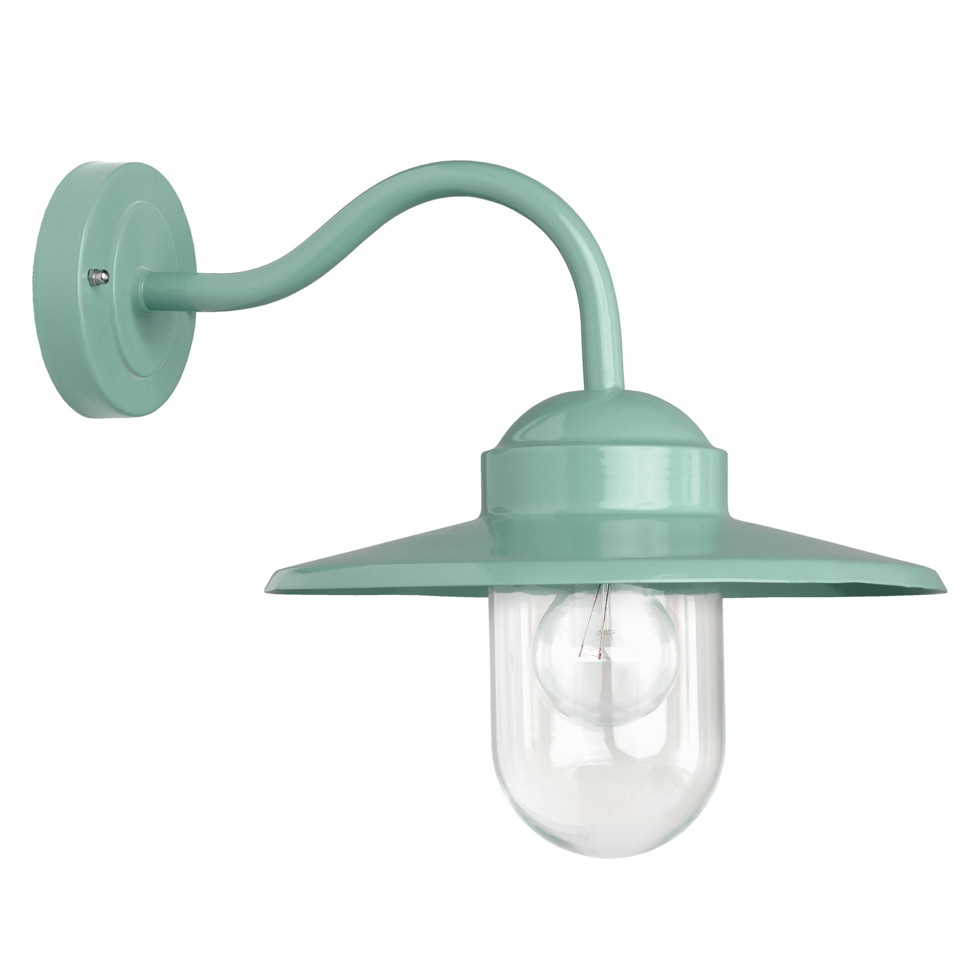 Buitenlamp Dolce Retro Groen Dag Nacht Schemersensor LED