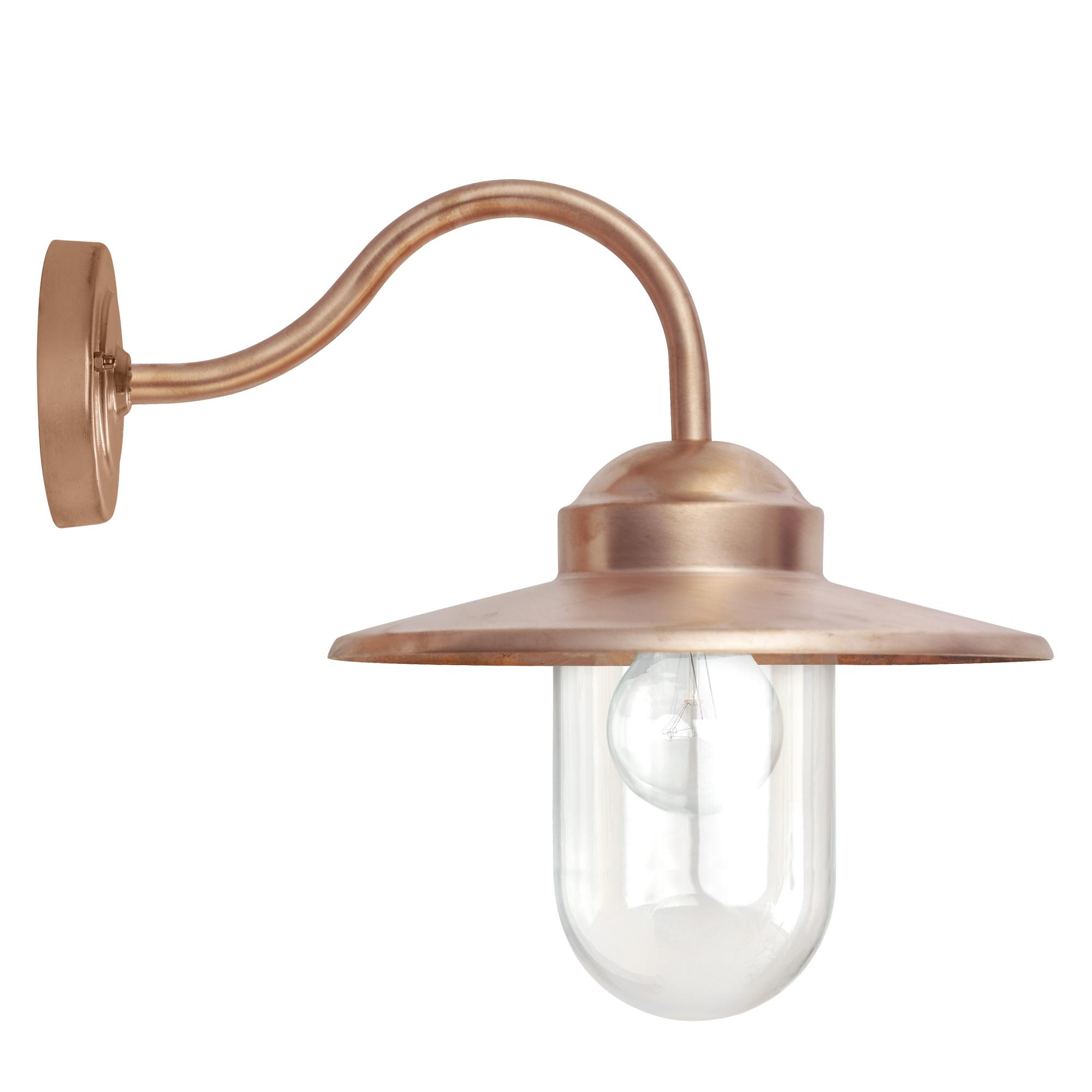 Buitenlamp Dolce Koper Dag Nacht Schemersensor LED