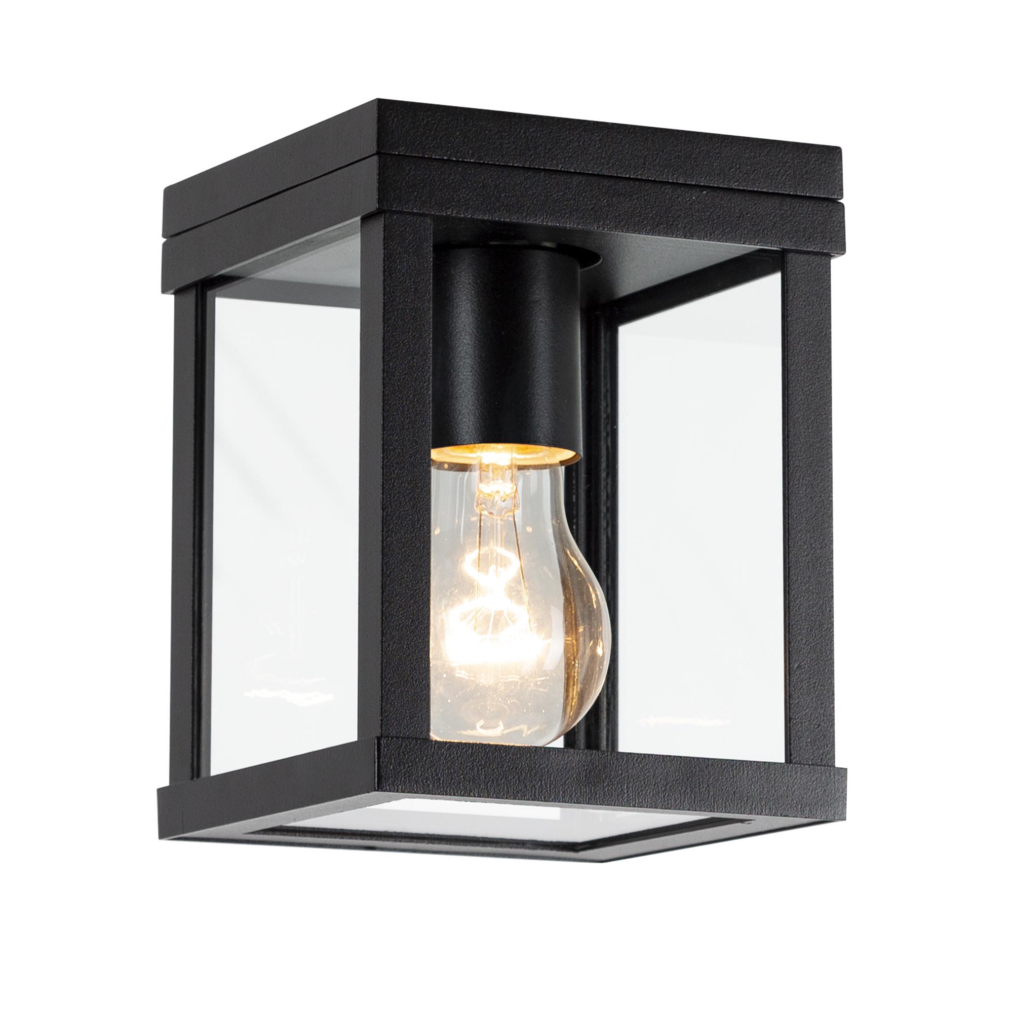 Plafondlamp Buiten Huizen Zwart