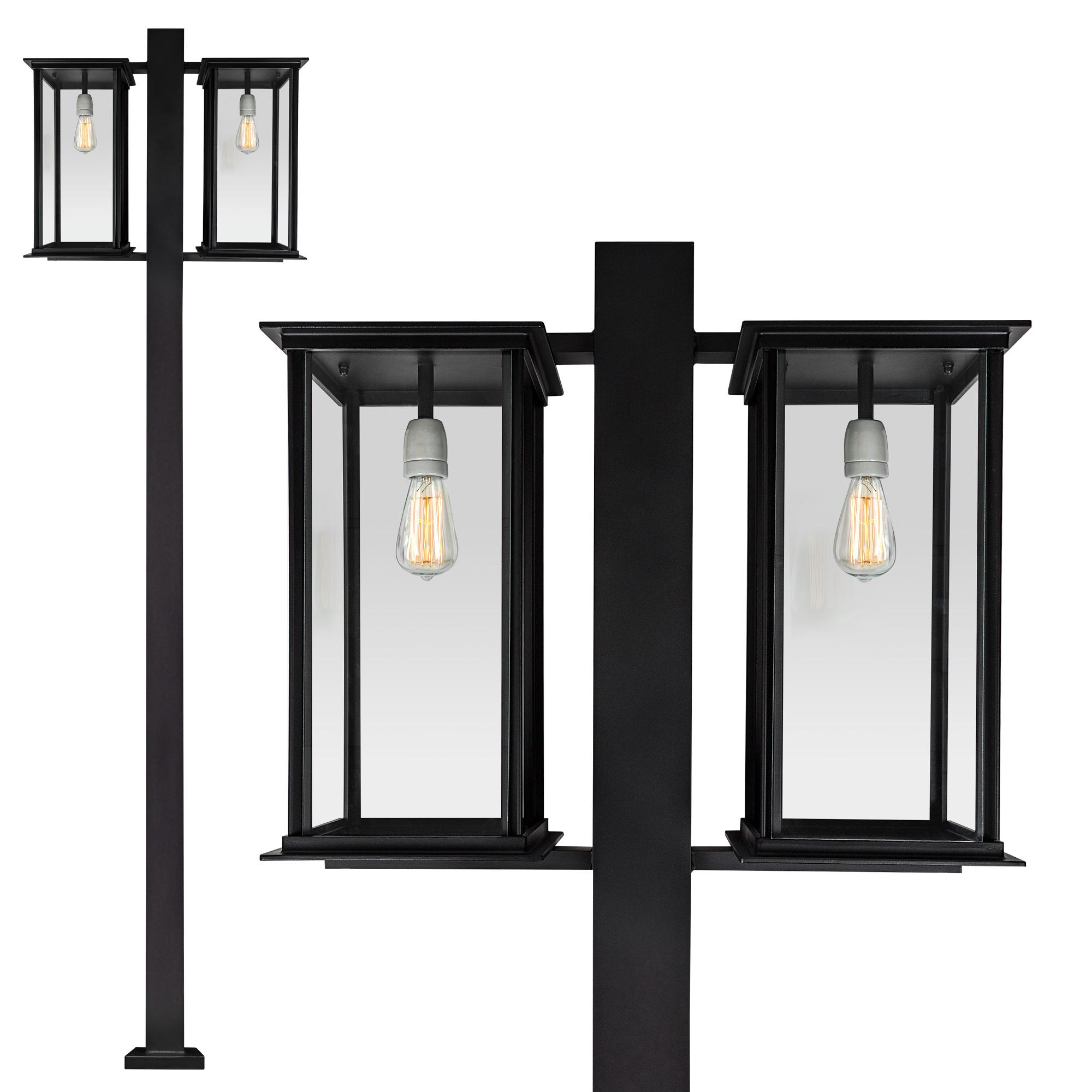 Capital lantaarn 2 lichts
